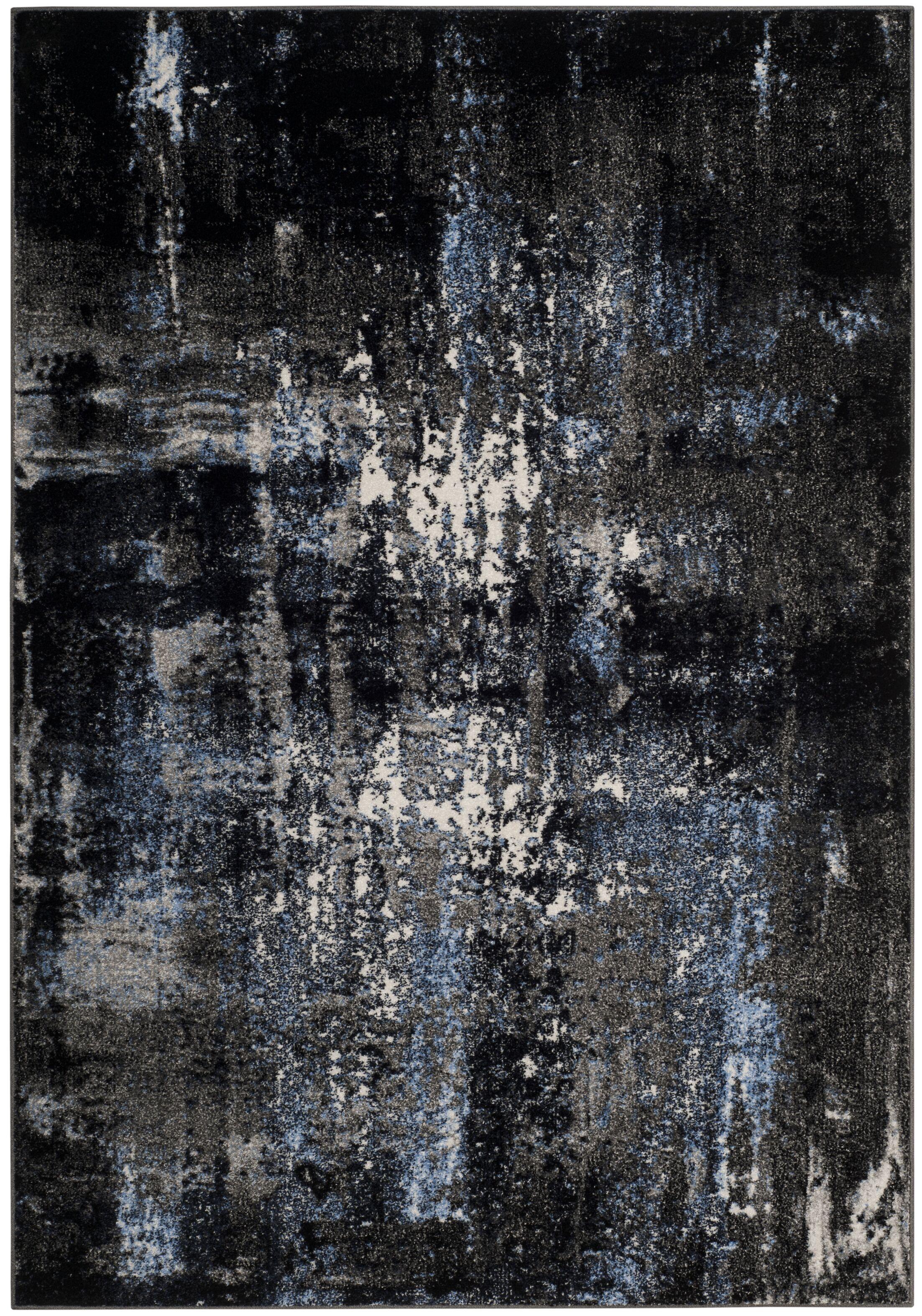 Othello Gray Area Rug Rug Size: Rectangle 4' x 6'