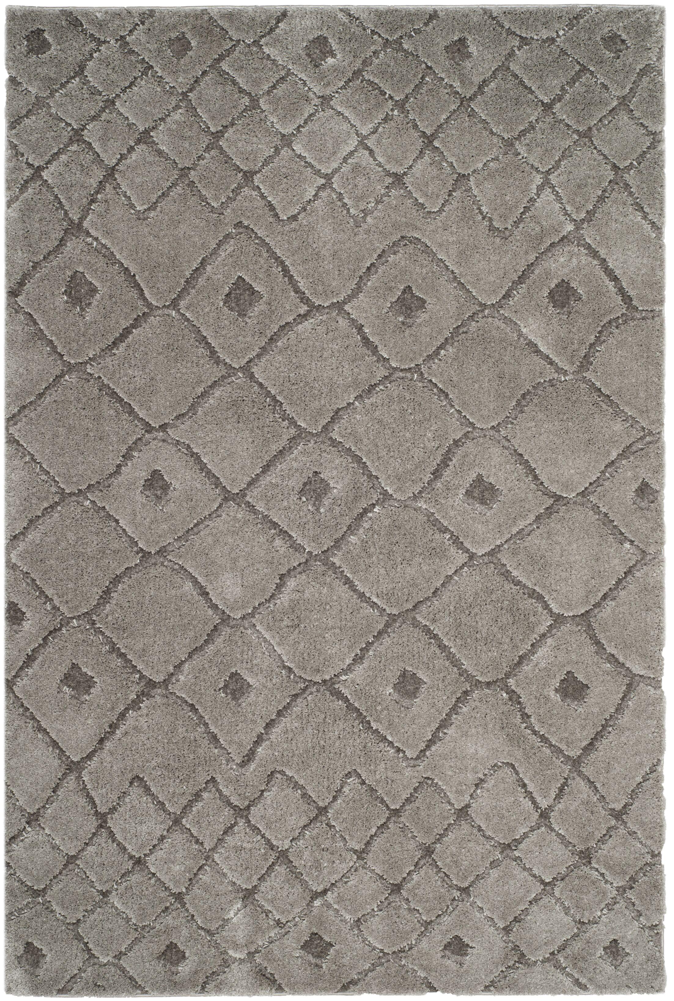 Atisha Gray Area Rug Rug Size: Rectangle 6'7