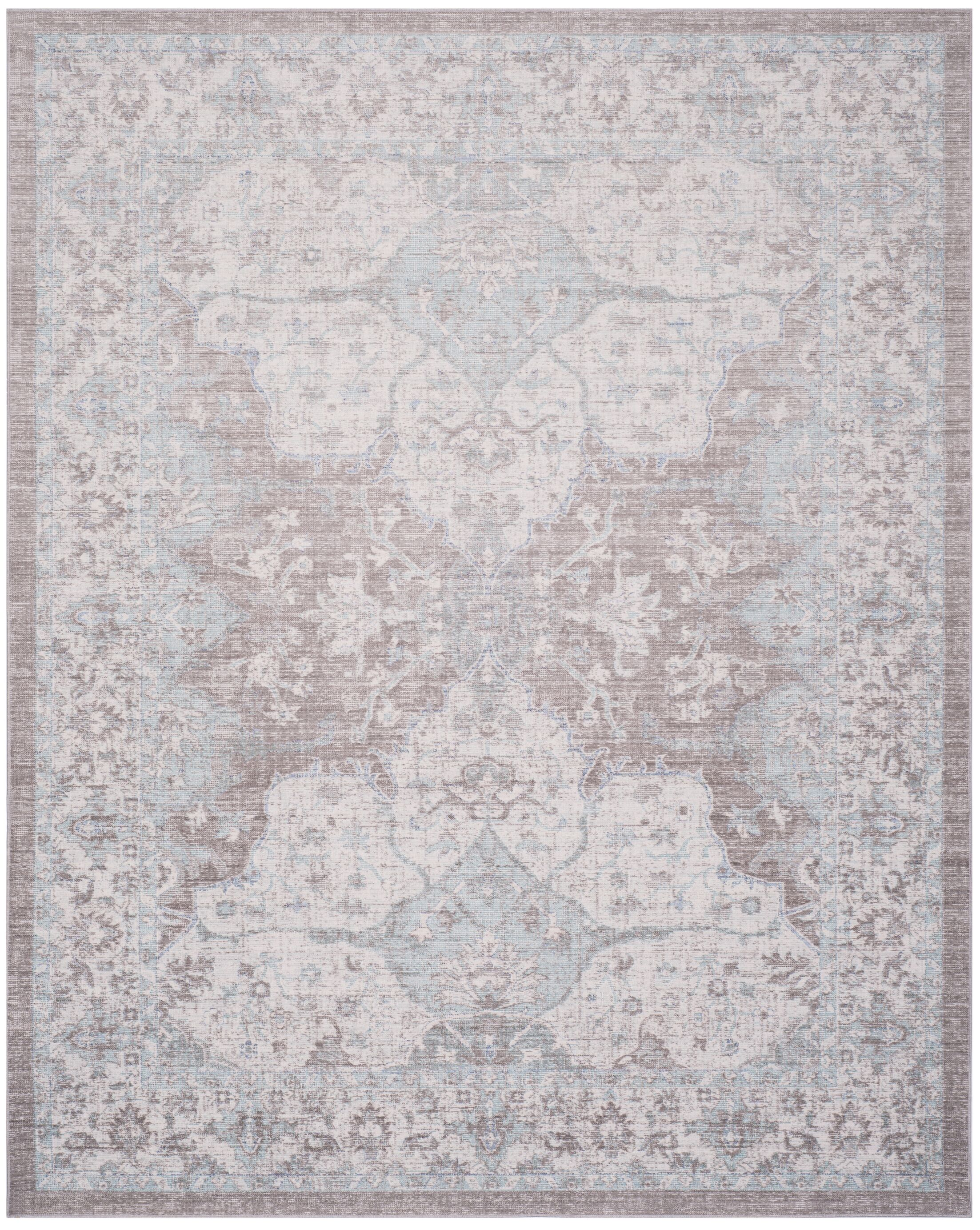 Edgehill Light Gray Area Rug Rug Size: Rectangle 8' x 10'