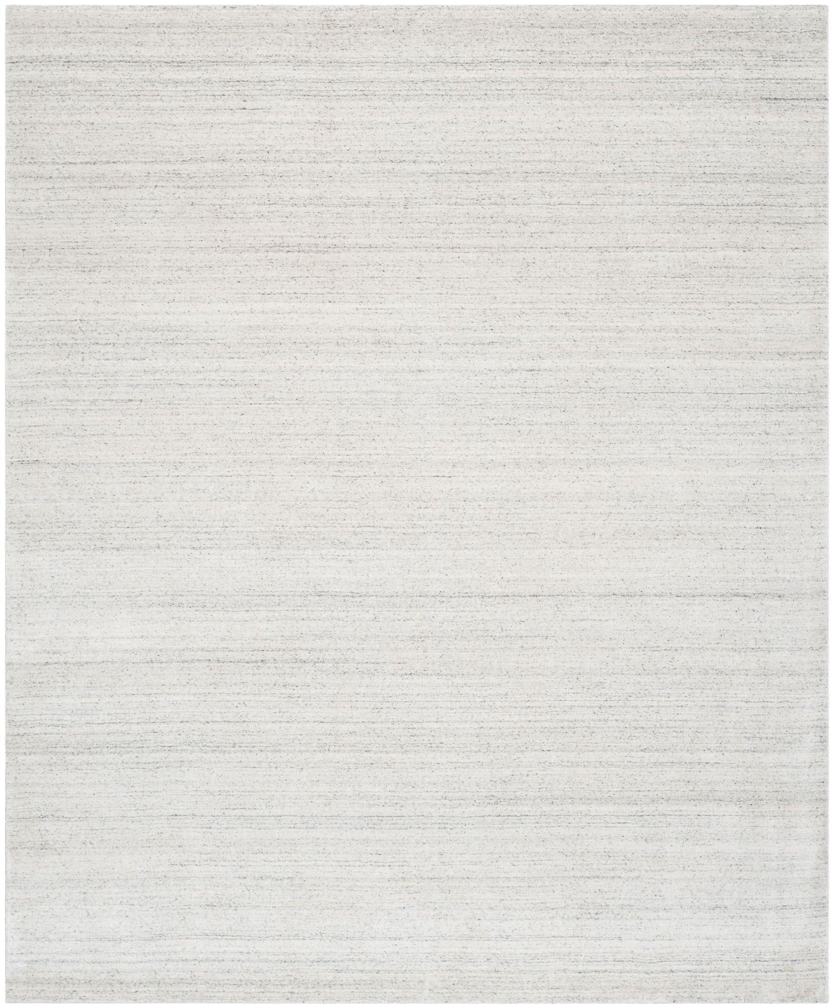 Wald Hand-Woven Silver Area Rug Rug Size: Rectangle 8' x 10'