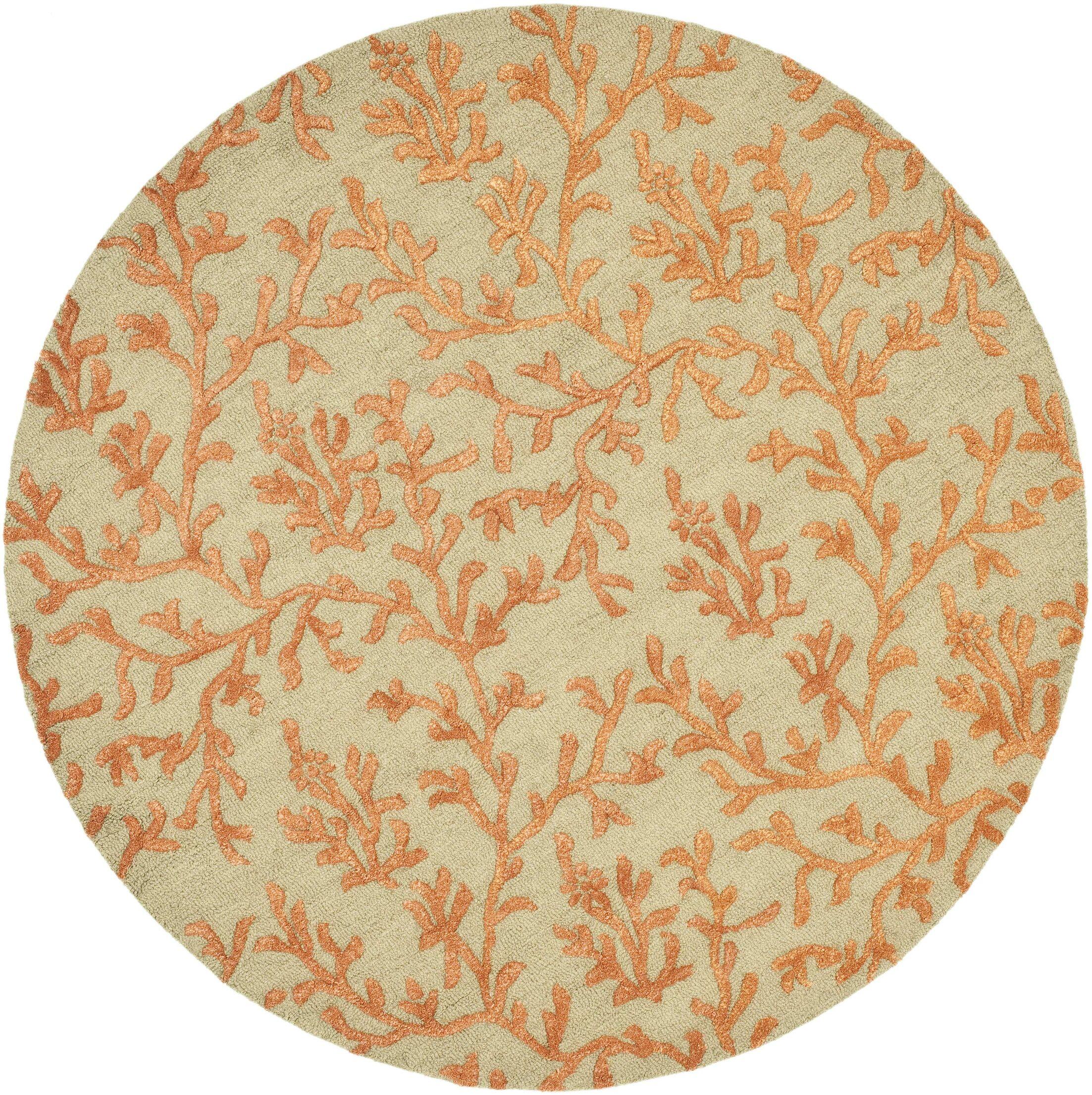Orin Green/Gold Area Rug Rug Size: Rectangle 5' x 8'