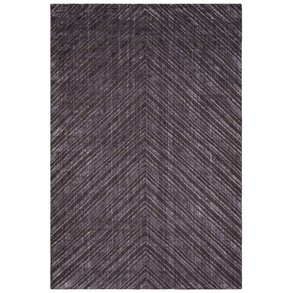 Oshinsky Charcoal Area Rug Rug Size: Rectangle 6' x 9'