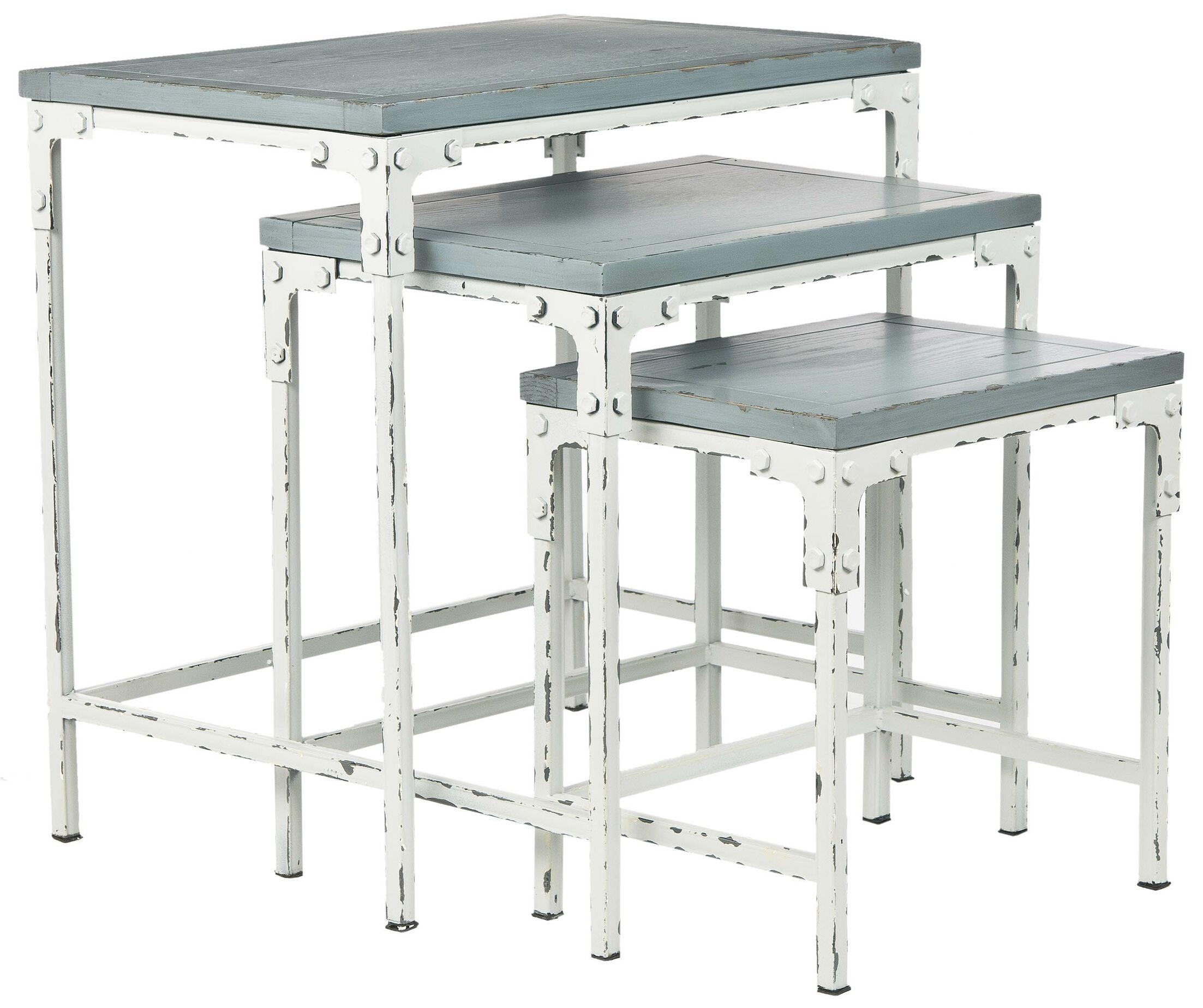 Clark 3 Piece Nesting Tables