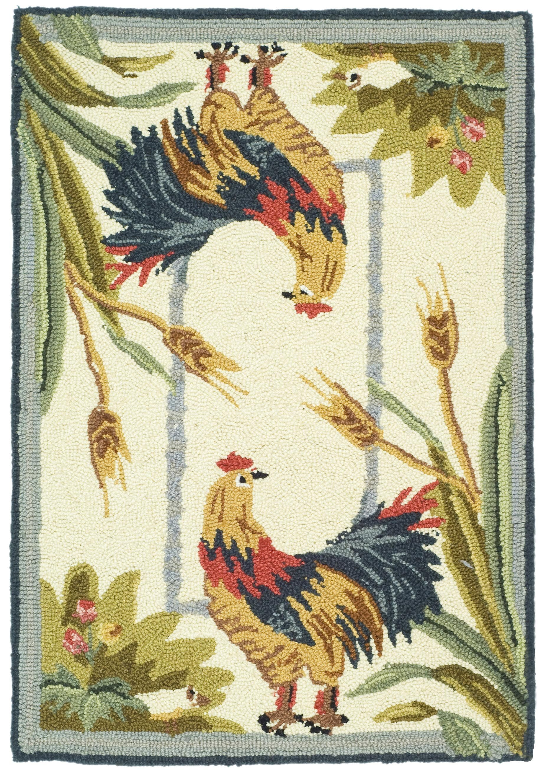 Kinchen Country Rug Rug Size: Rectangle 5'3