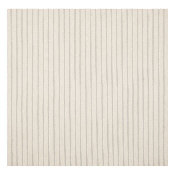 Dhurries Hand-Woven White Area Rug Rug Size: Square 6'