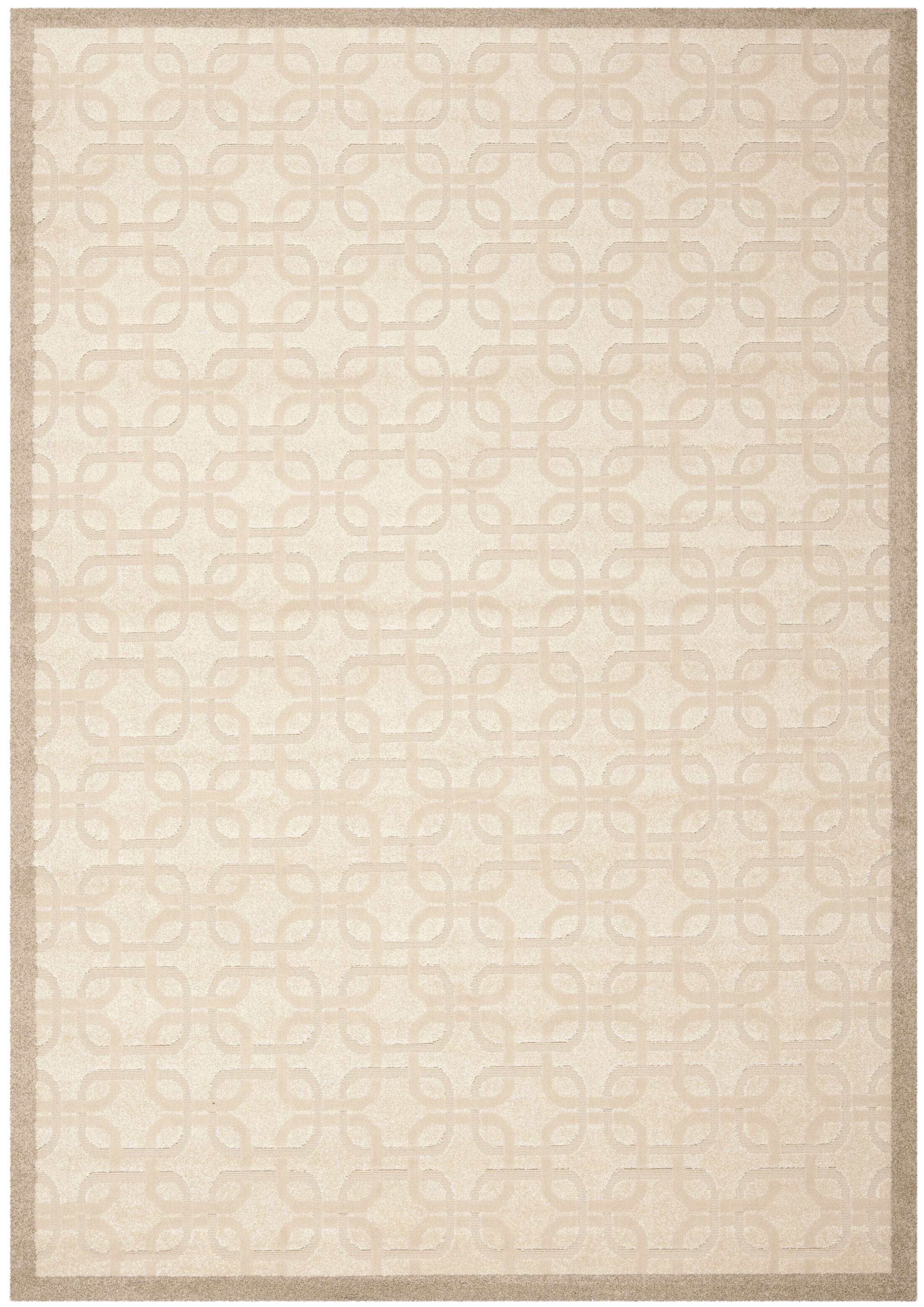 York Brown/Tan Area Rug Rug Size: Rectangle 8' x 11'2