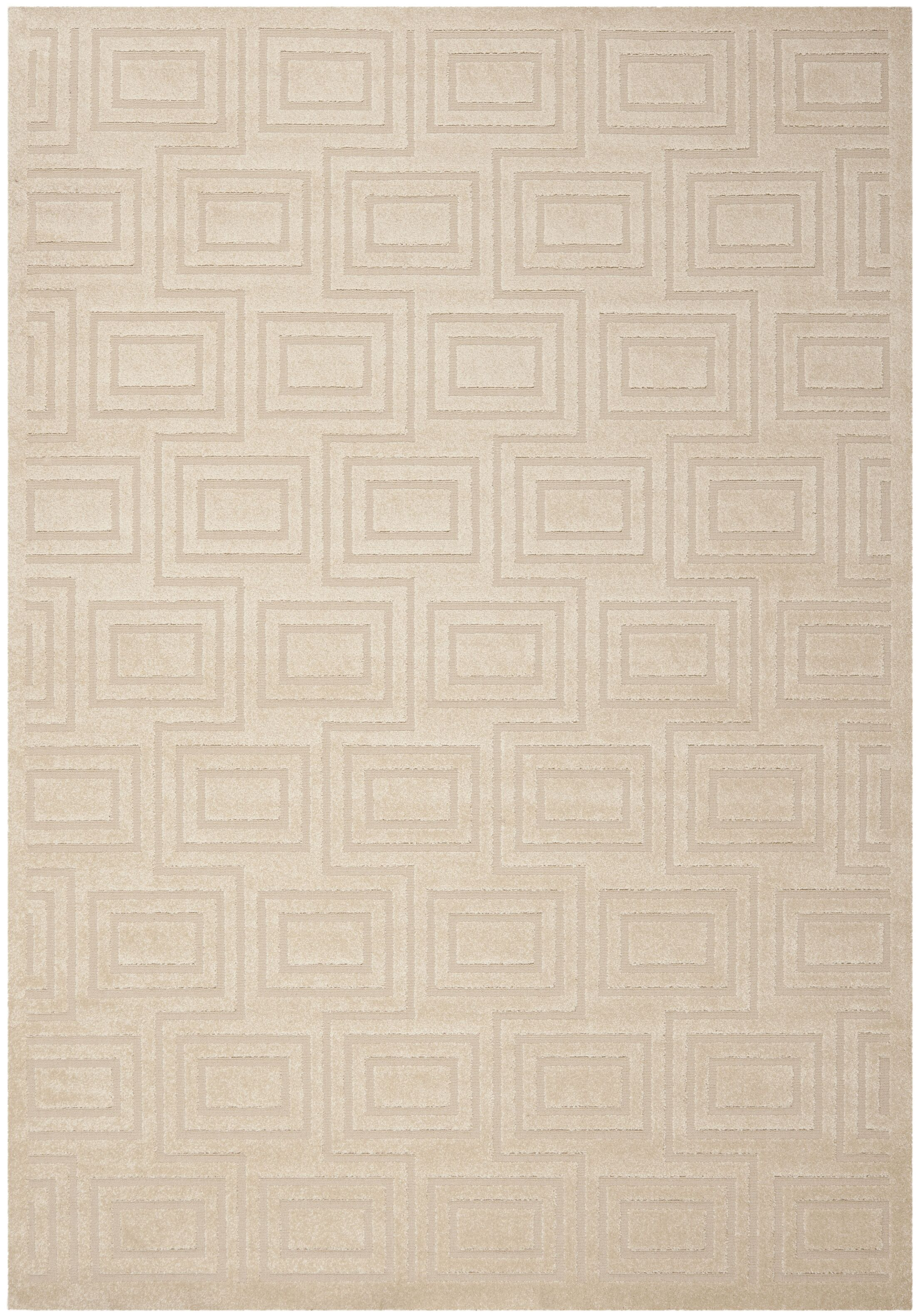 York Brown/Tan Area Rug Rug Size: Rectangle 8' x 10'