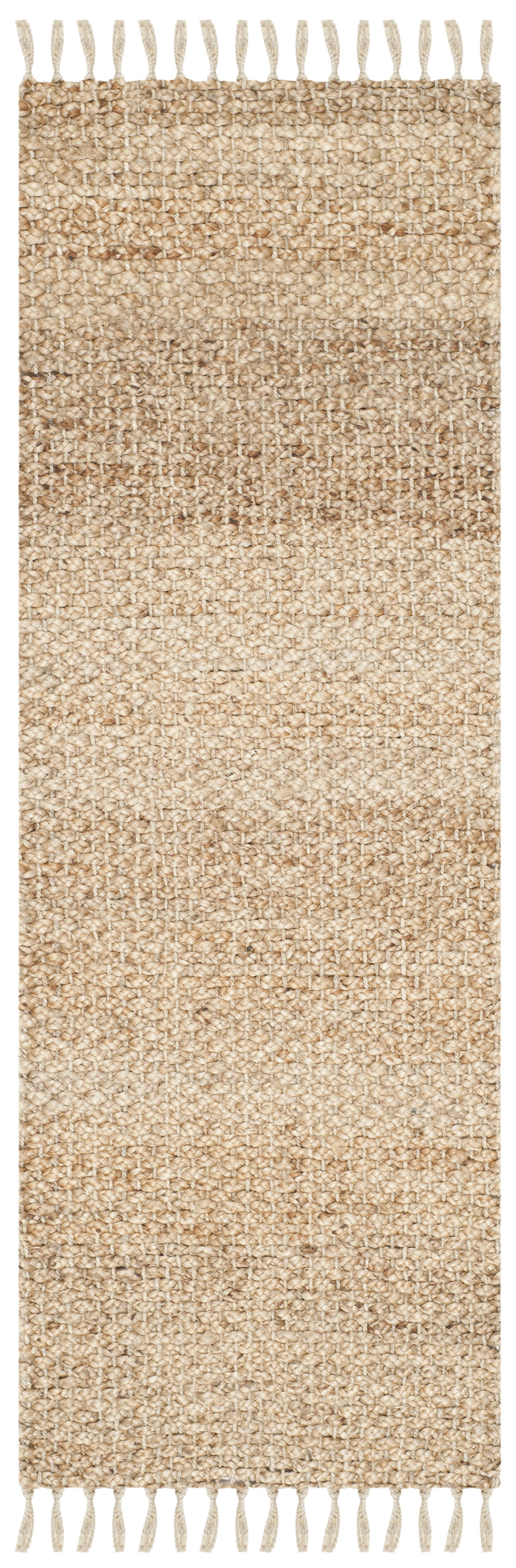 Liza Hand-Woven Natural Area Rug Rug Size: Runner 2'3