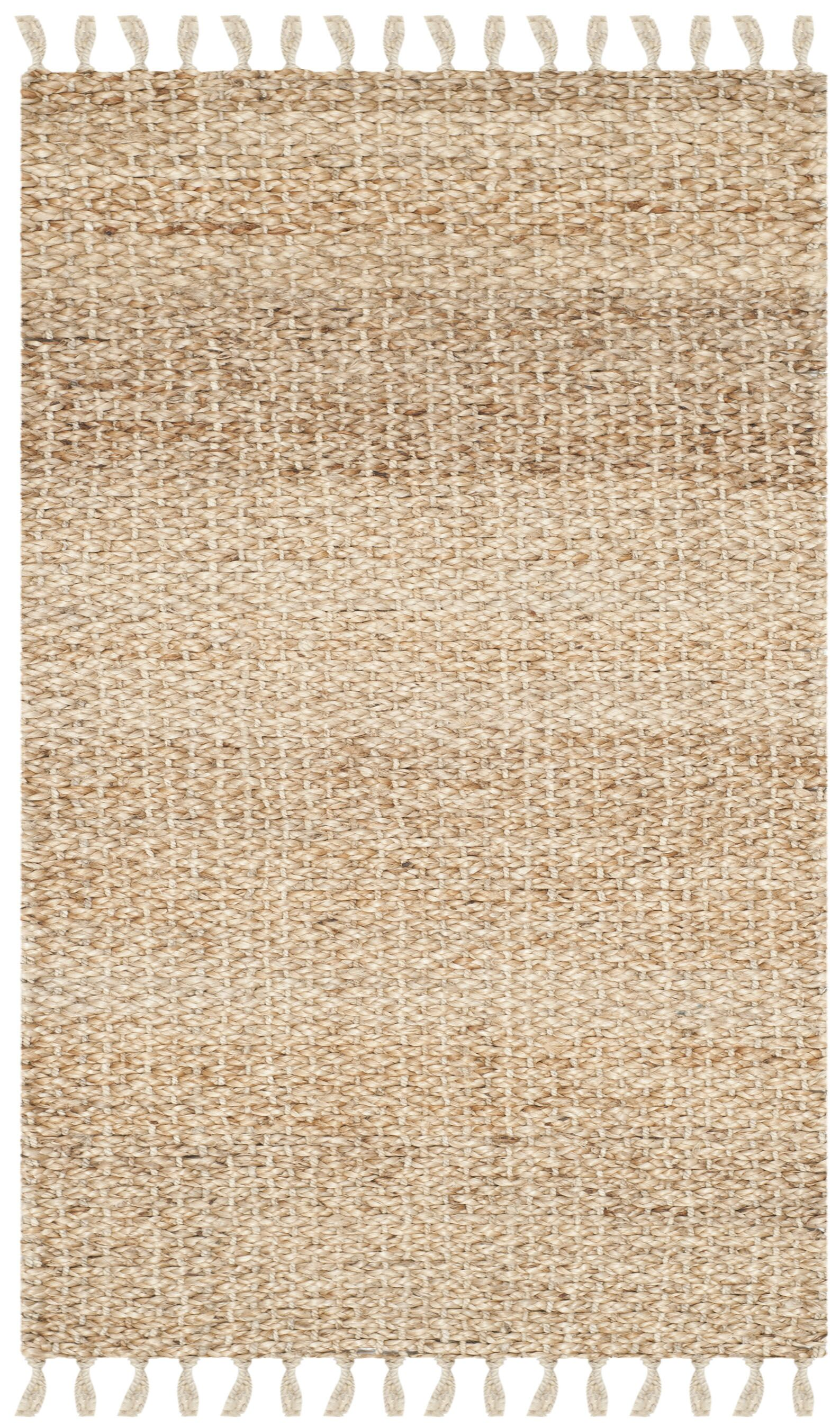 Liza Hand-Woven Natural Area Rug Rug Size: Rectangle 3' x 5'