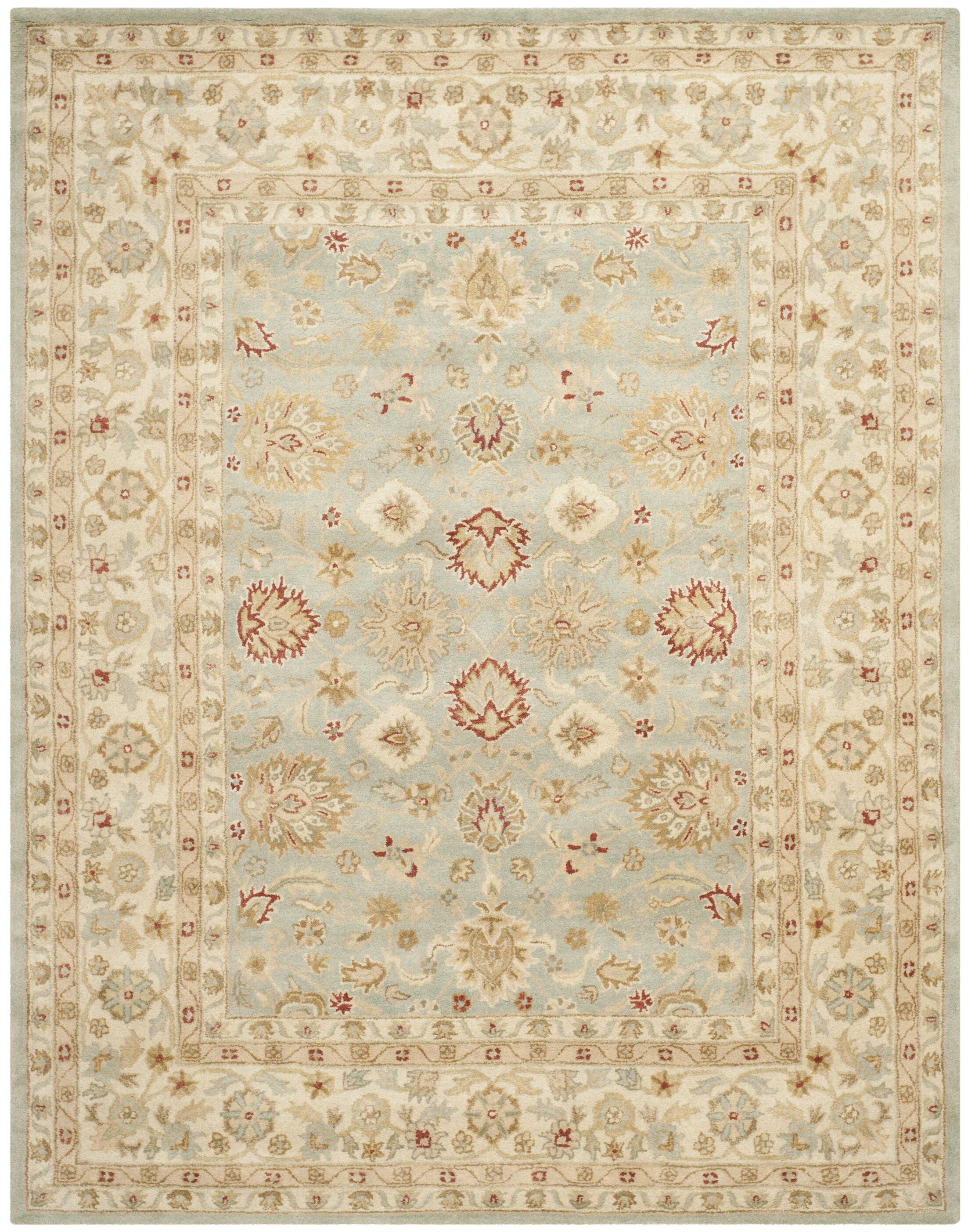 Otwell Gray/Blue/Beige Area Rug Rug Size: 3' x 5'