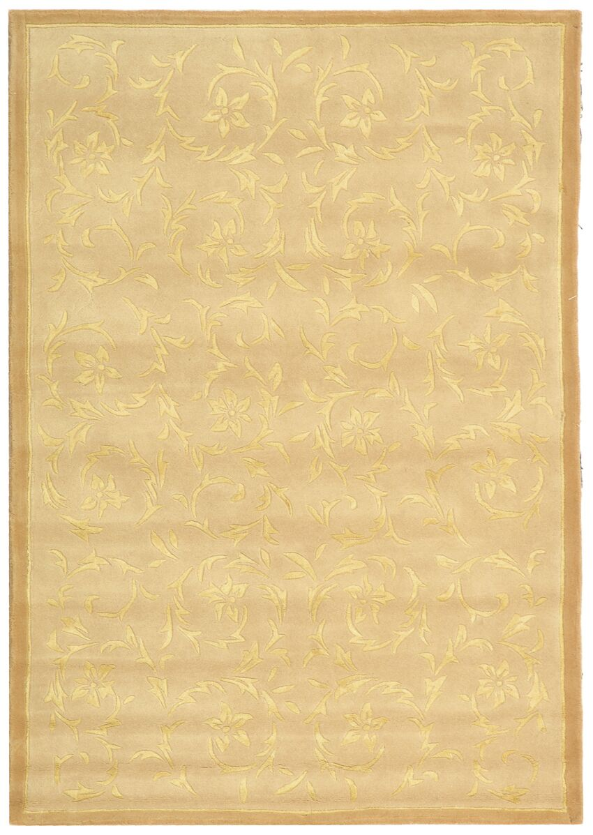 French Tapis Sand Contemporary Rug Rug Size: Rectangle 5' x 8'