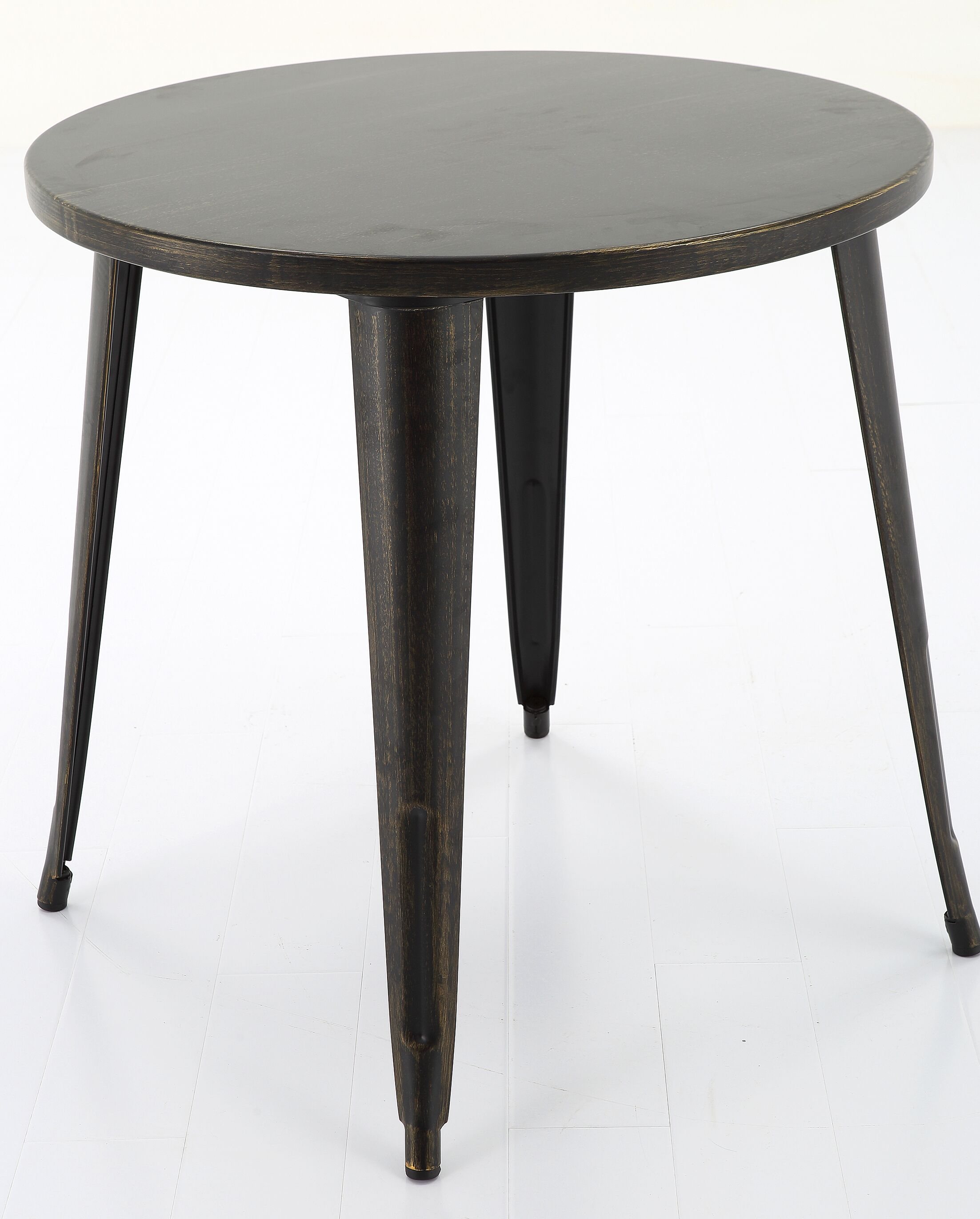 Leeann Bar Table Table Height: 40.7, Top Color: Black