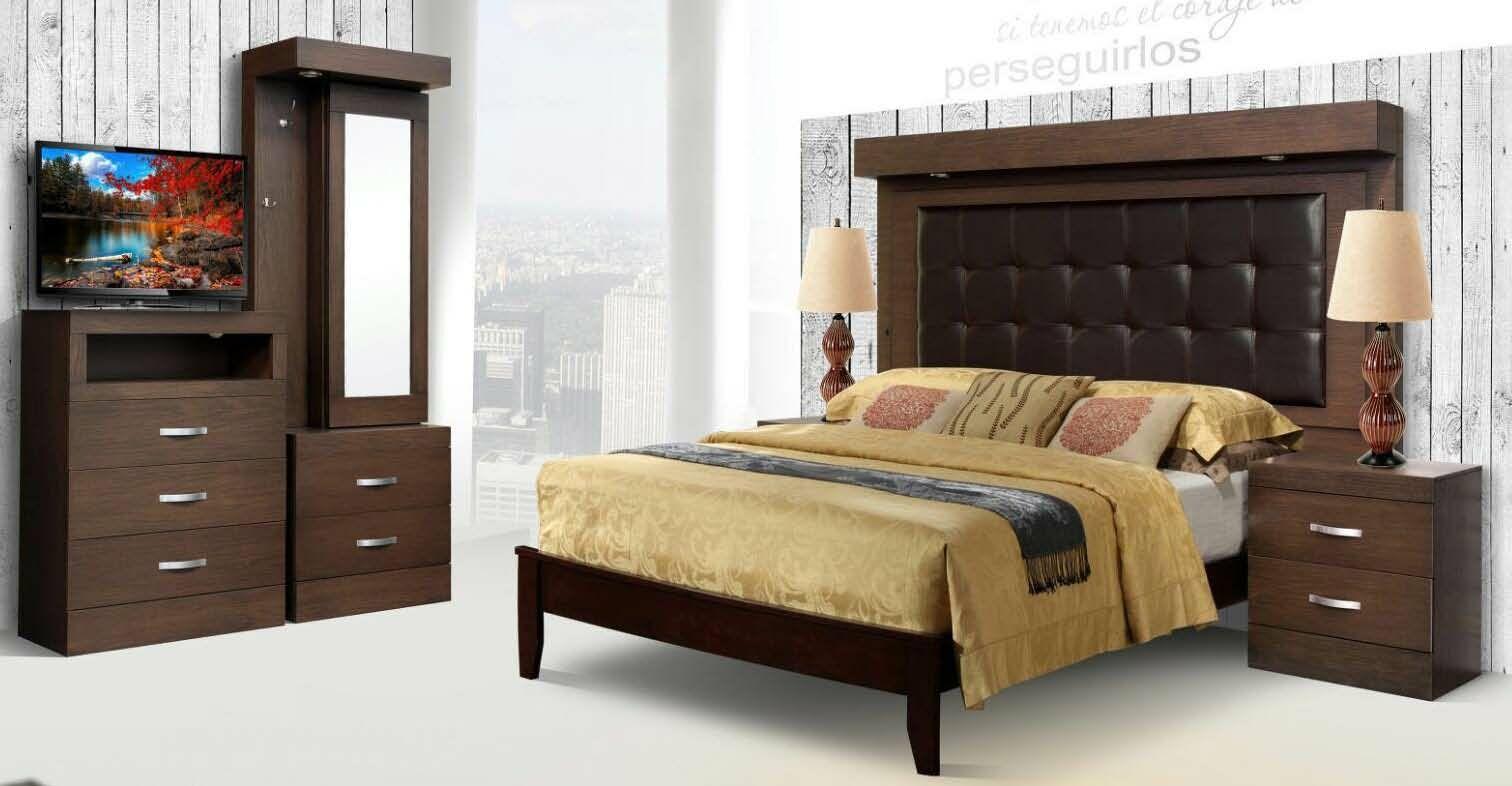 Munich 5 Piece Bedroom Set Size: King