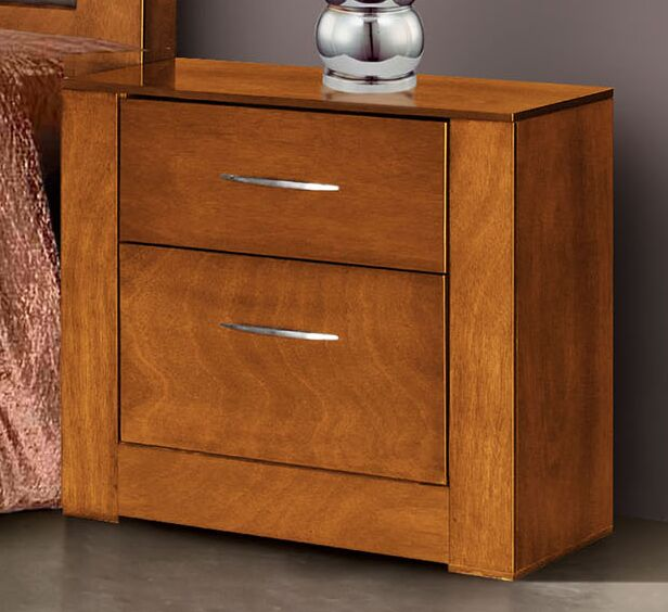 Lennards 2 Drawer Nightstand
