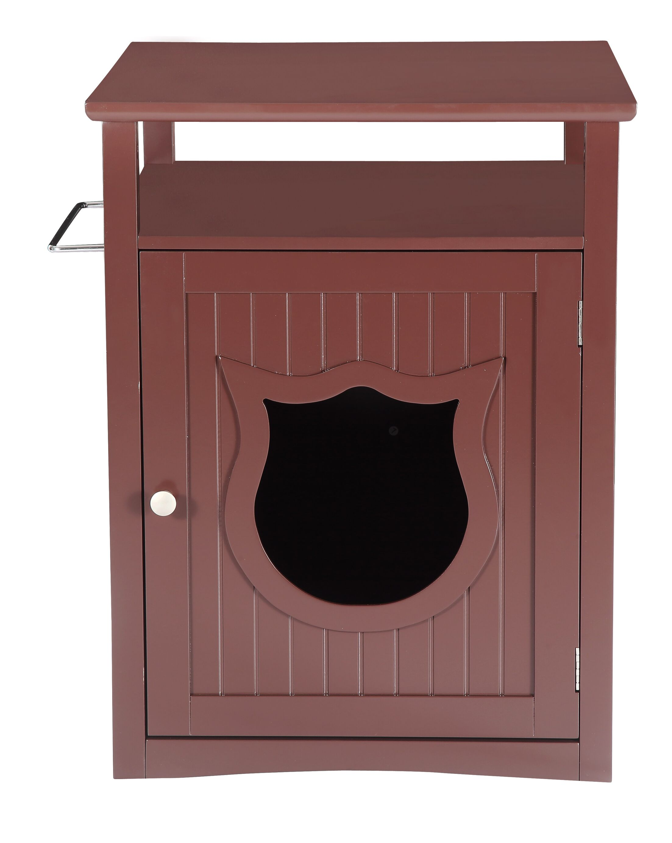Kitty Cat Litter Box Color: Brown