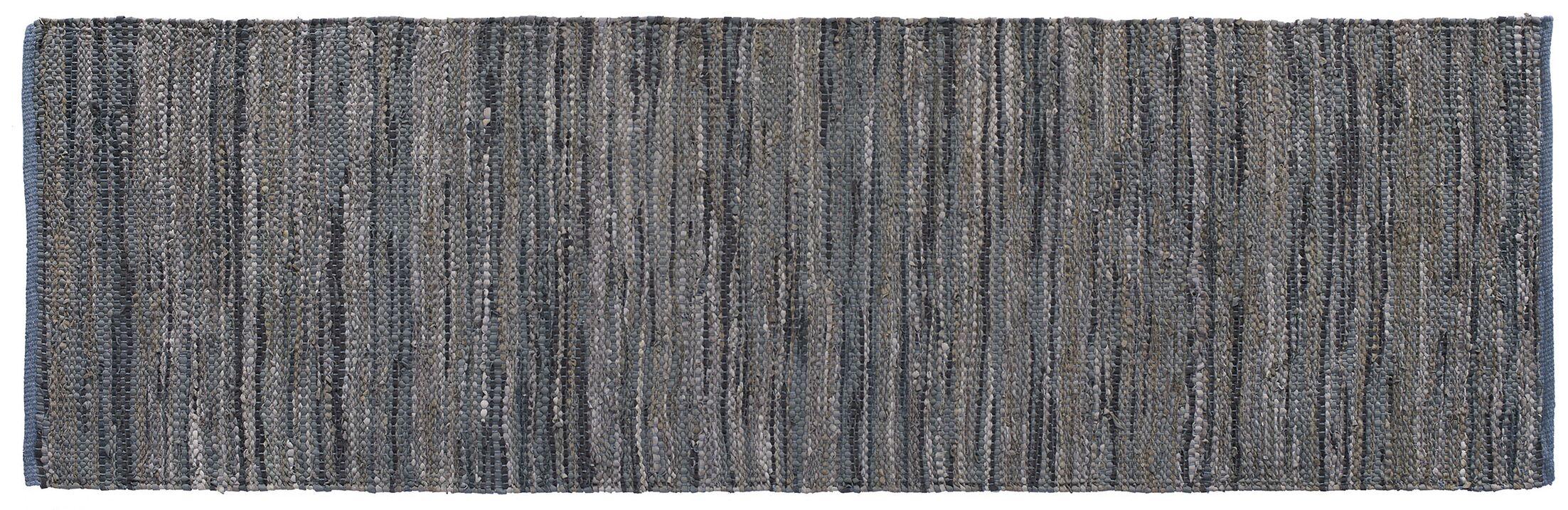 Monterey Hand-Woven Dove Gray Area Rug Rug Size: Runner 2'6