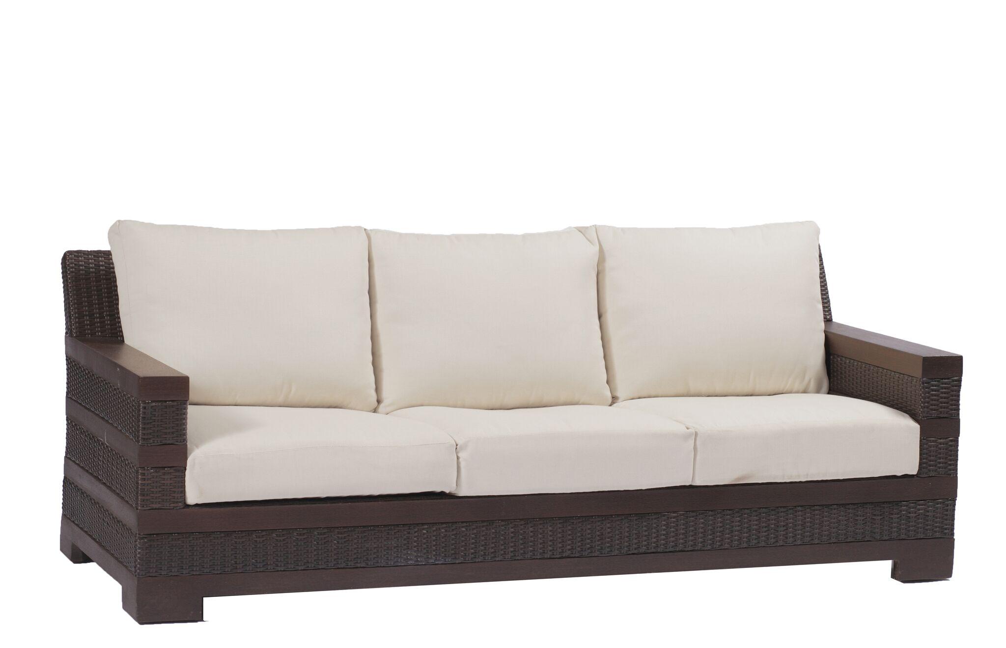 Sierra Patio Sofa with Cushions