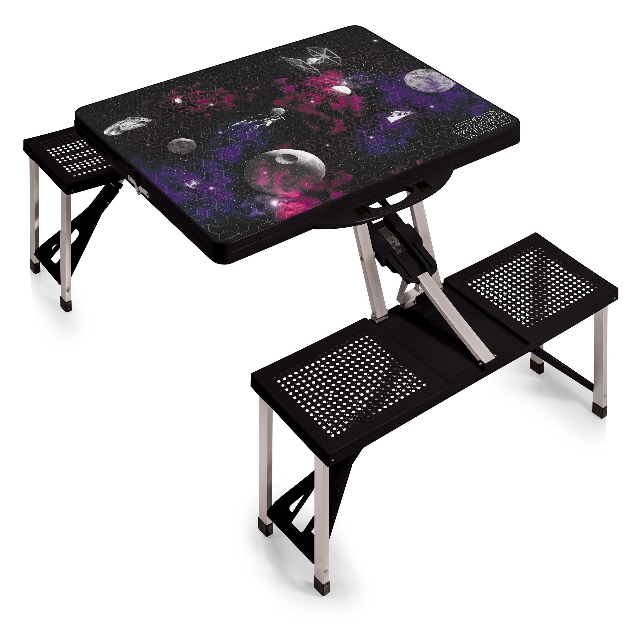 Death Star Folding Aluminum Camping Table