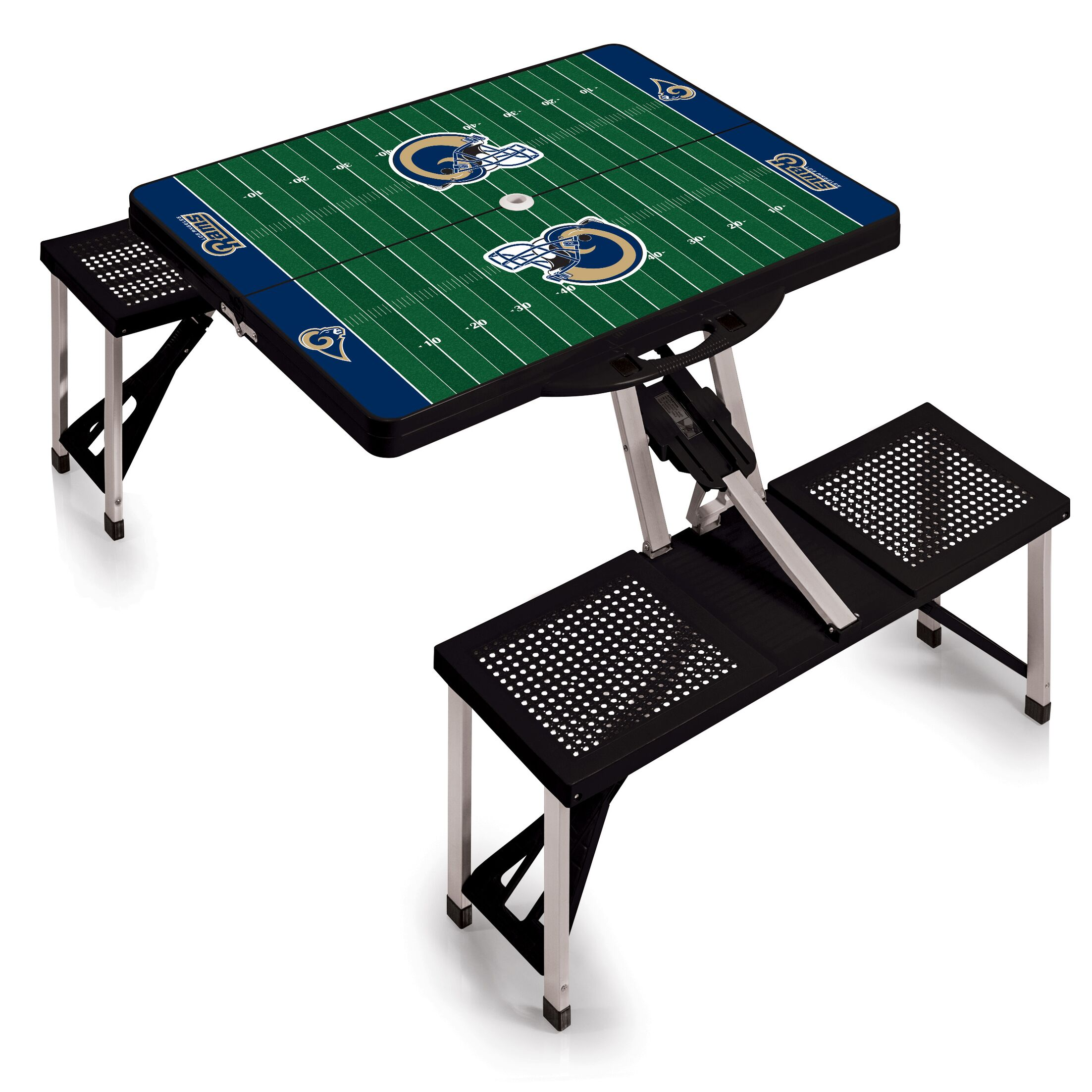 NFL Picnic Table Sport Finish: Black, NFL Team: Tampa Bay Buccaneers