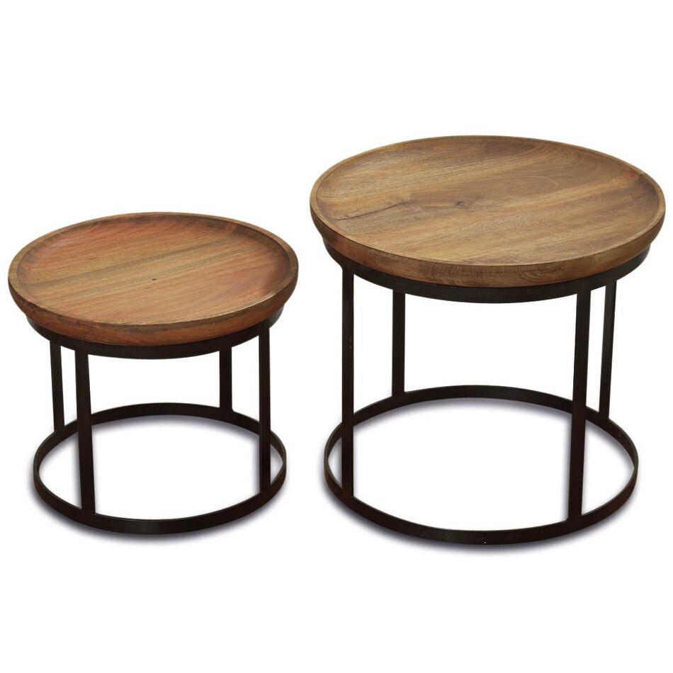 Aria 2 Piece End Table Set