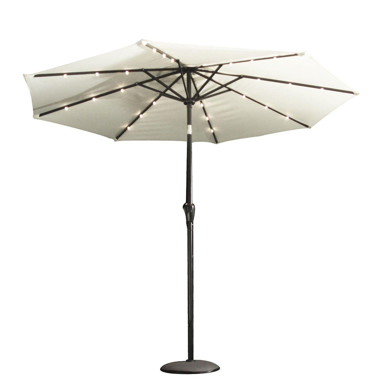 7.5' Market Umbrella Fabric Color: Cream