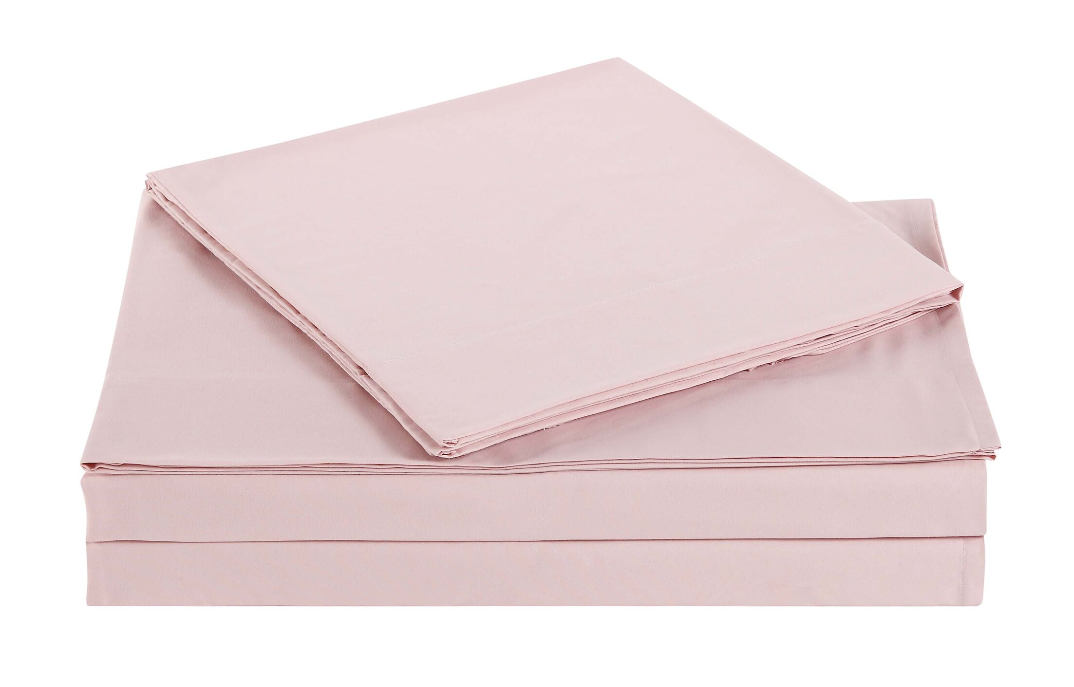 Elisa Kids Solid Sheet Set Color: Blush, Size: Twin