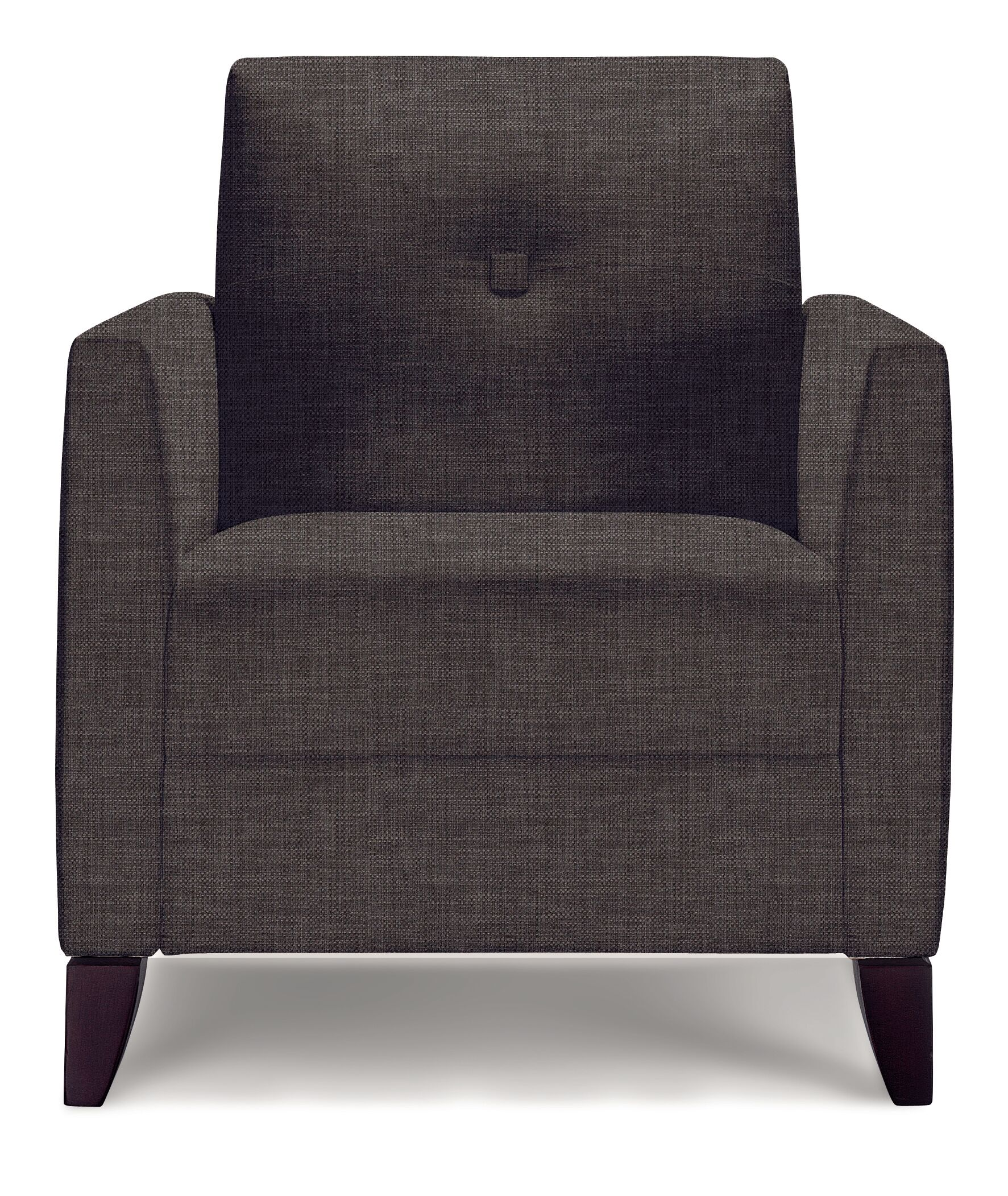 Julie Lounge Chair Finish: Macassar, Upholstery: Pearl Epic