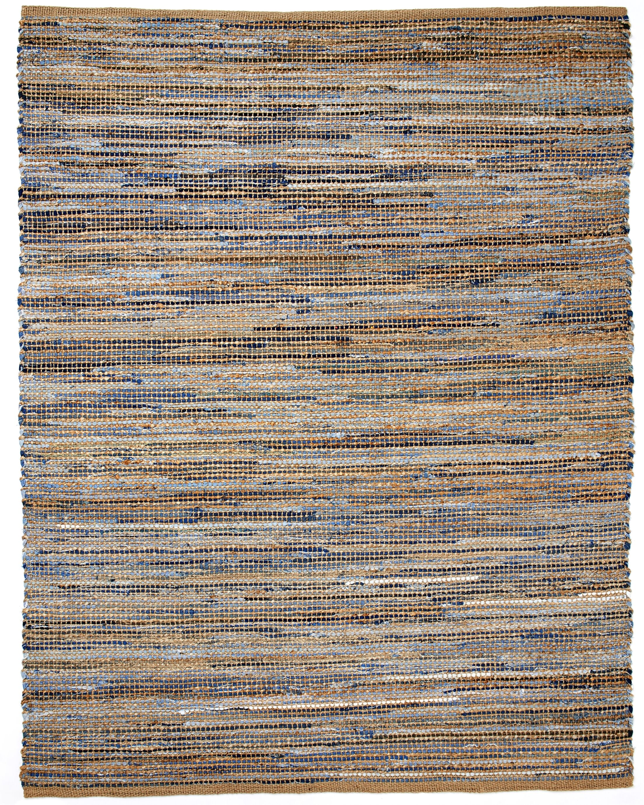 Amit Hand-Woven Brown Area Rug Rug Size: 4' x 6'