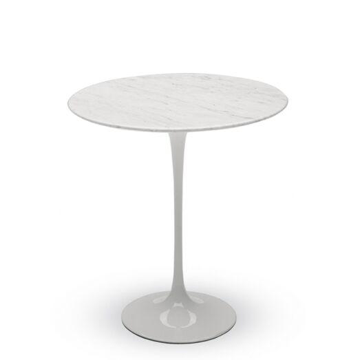 End Table Color: White Carrara