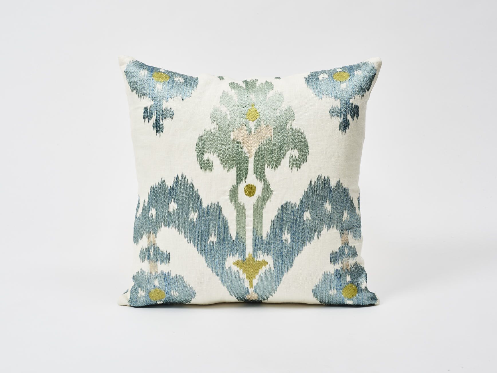 Raja Embroidery Throw Pillow