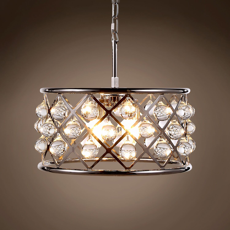 Lulsgate 4-Light Chandelier Bulb Type: Incandescent, Finish: Polished Nickel