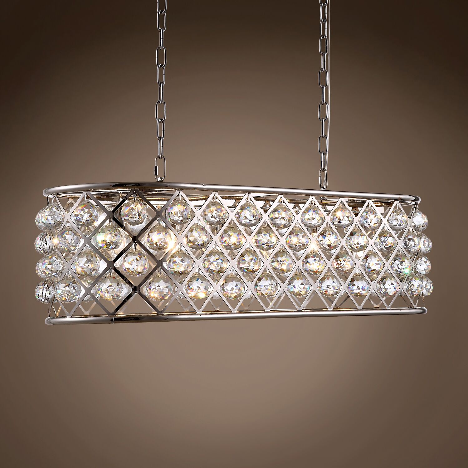 Lulsgate 6-Light Chandelier Shade Color: Clear, Bulb Type: Incandescent, Finish: Polished Nickel