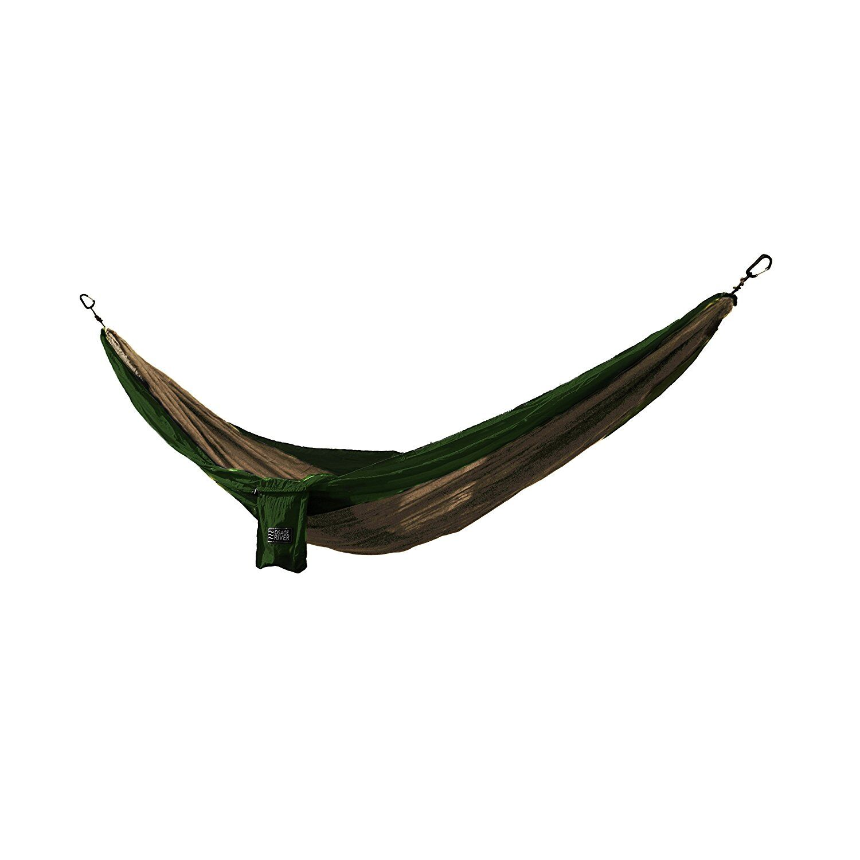 Osage River Twain Camping Hammock Color: Khaki/Olive Green, Size: 2