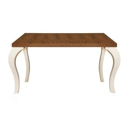 Belleza Coffee Table Base Color: White