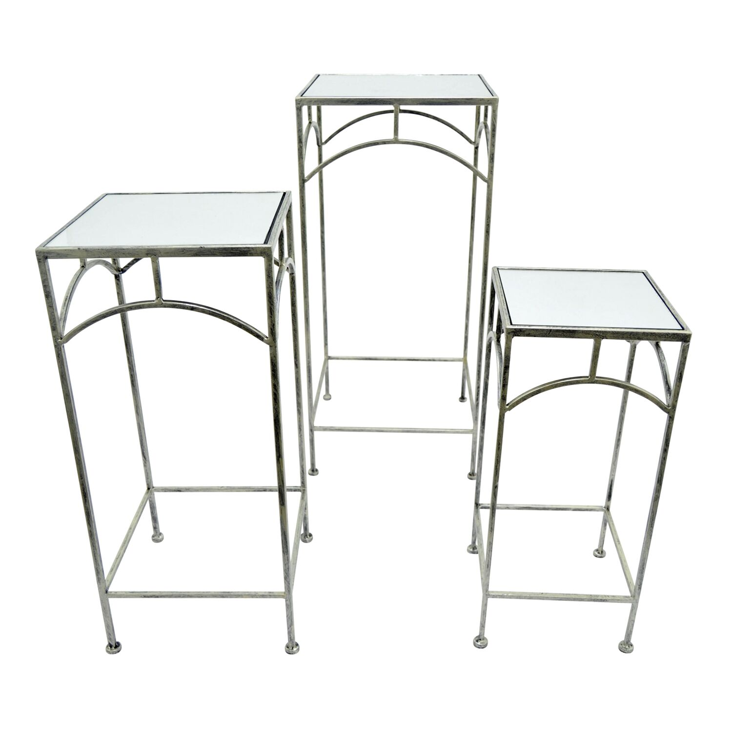 3 Piece Square Nesting Tables