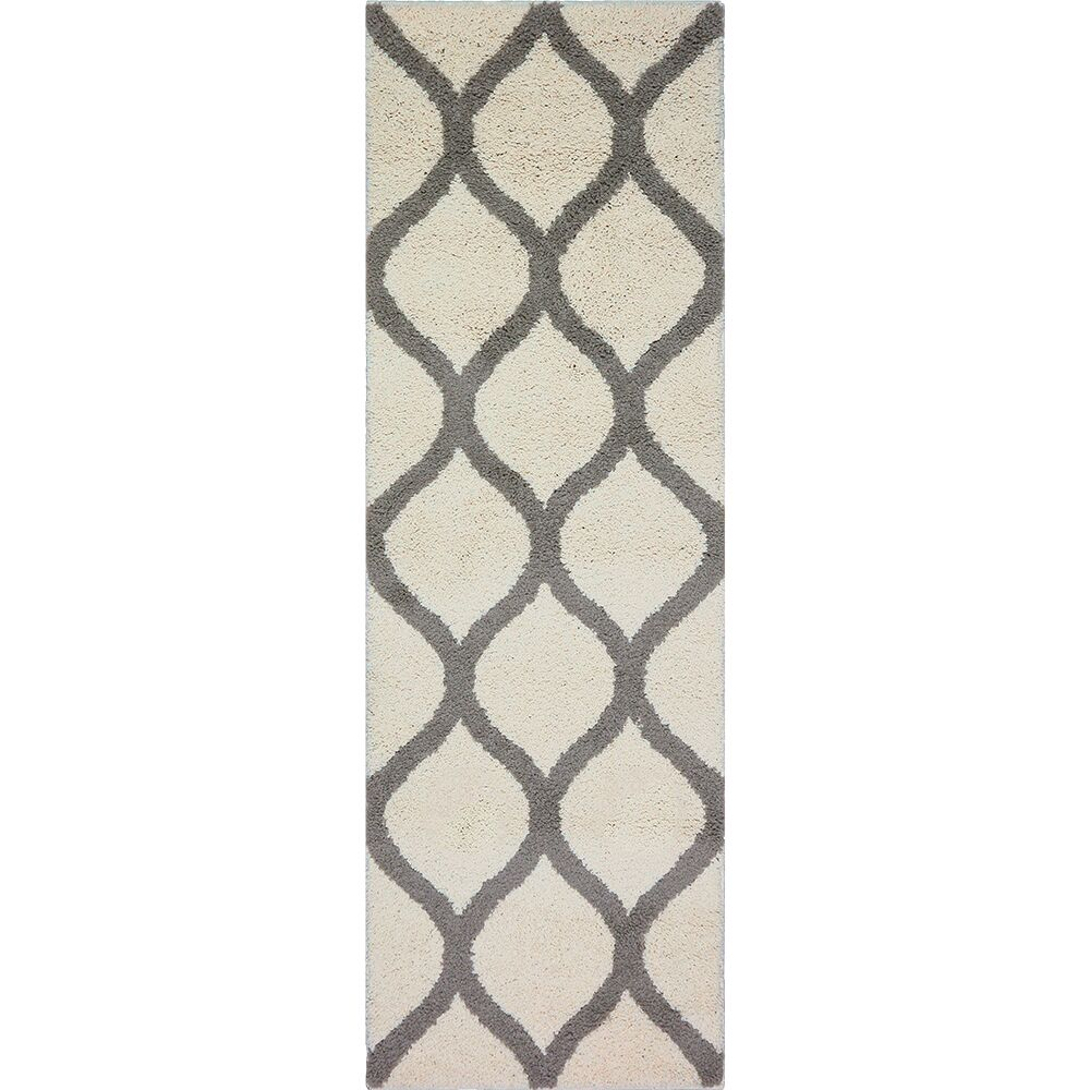 Hersom Cream Area Rug Rug Size: 7' x 10'
