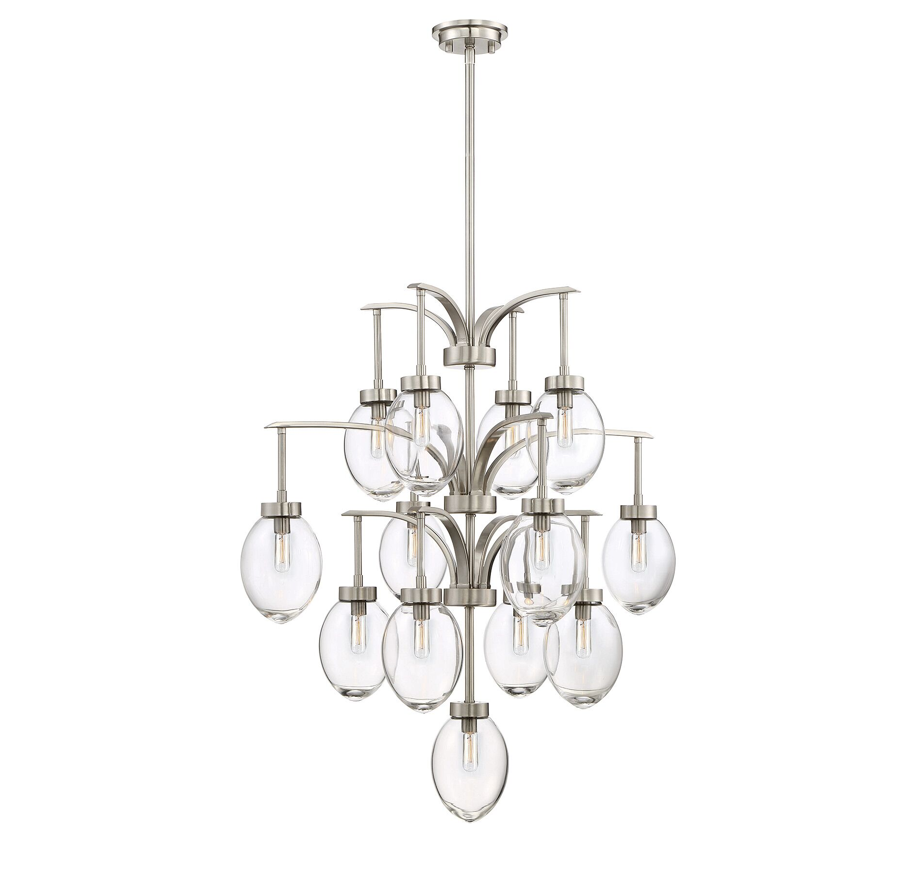 Gustavo 13-Light Shaded Chandelier