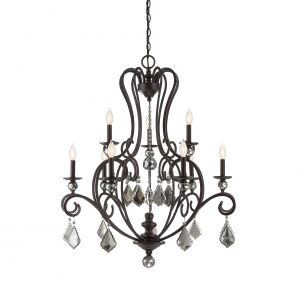 Aughalish 9-Light Chandelier