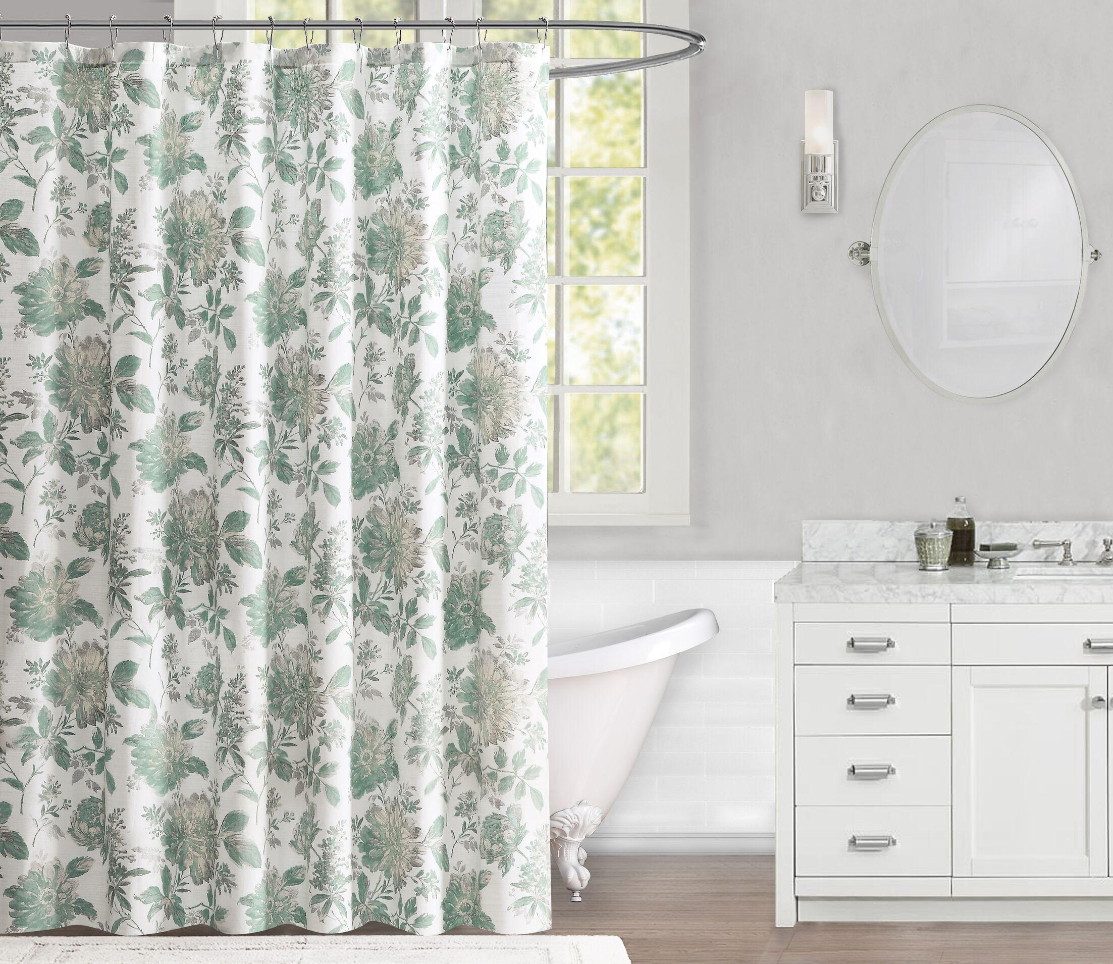 Fournier 100% Cotton Shower Curtain