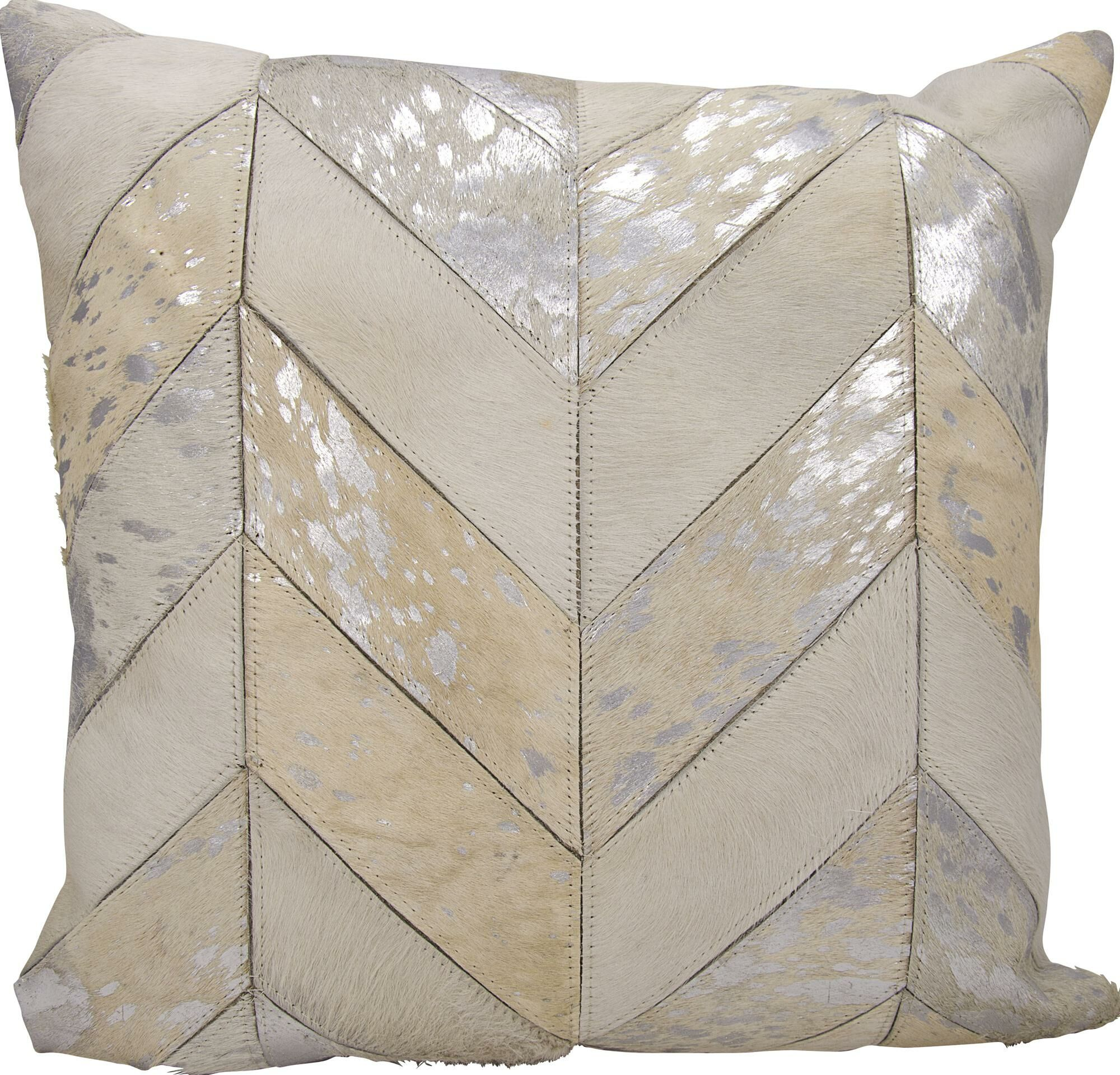 Kathy Ireland Throw Pillow Color: White