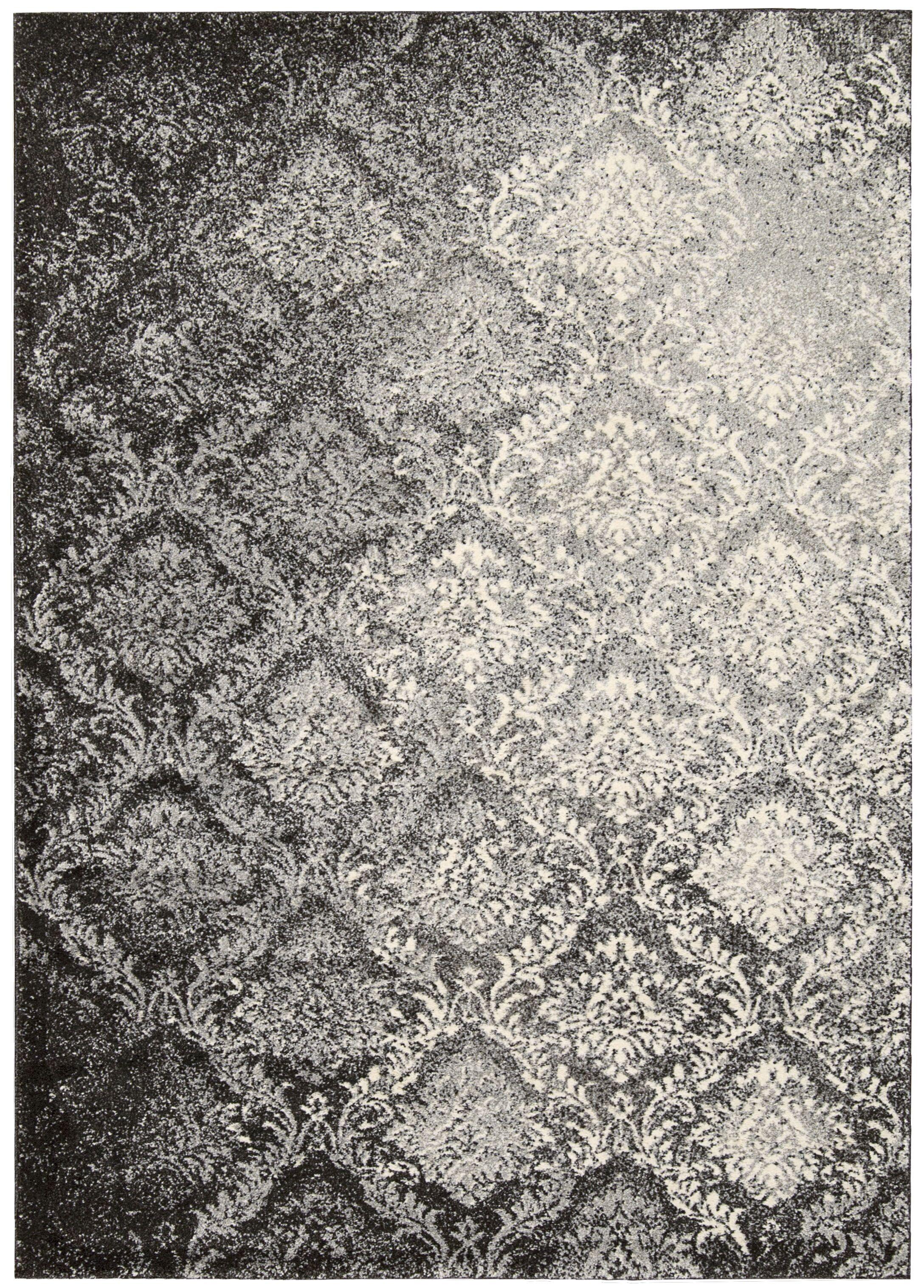 Santa Barbara Royal Shimmer Gray Area Rug Rug Size: Rectangle 3'9