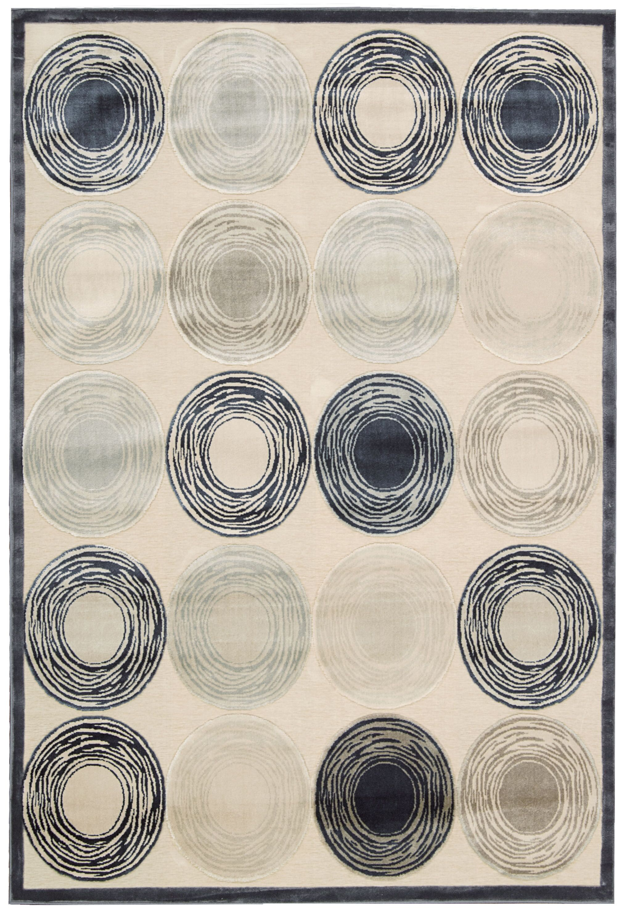Bel Air Prelude Ivory Area Rug Rug Size: Rectangle 4'11