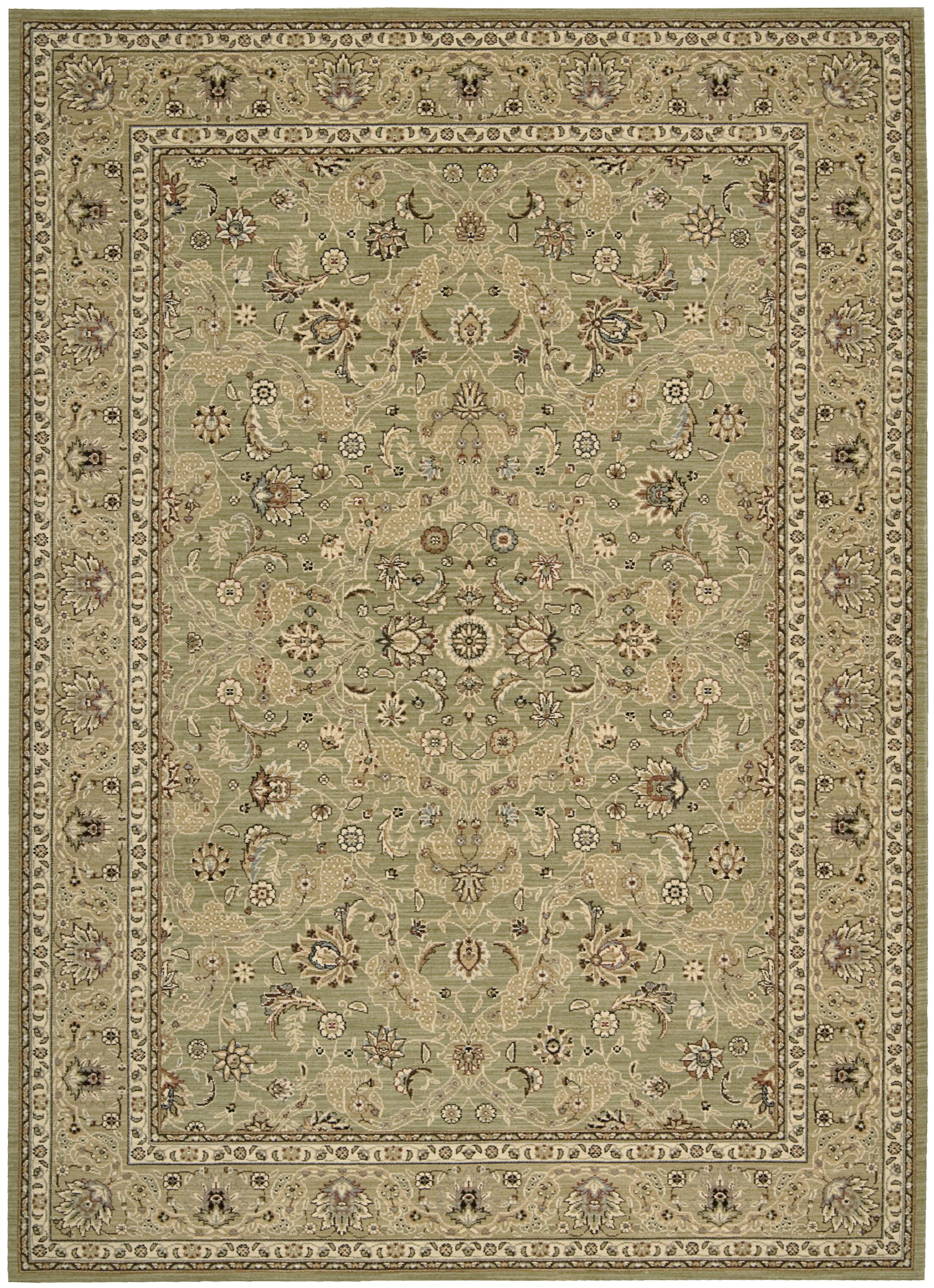 Lumiere Royal Countryside Sage Area Rug Rug Size: Rectangle 9'6