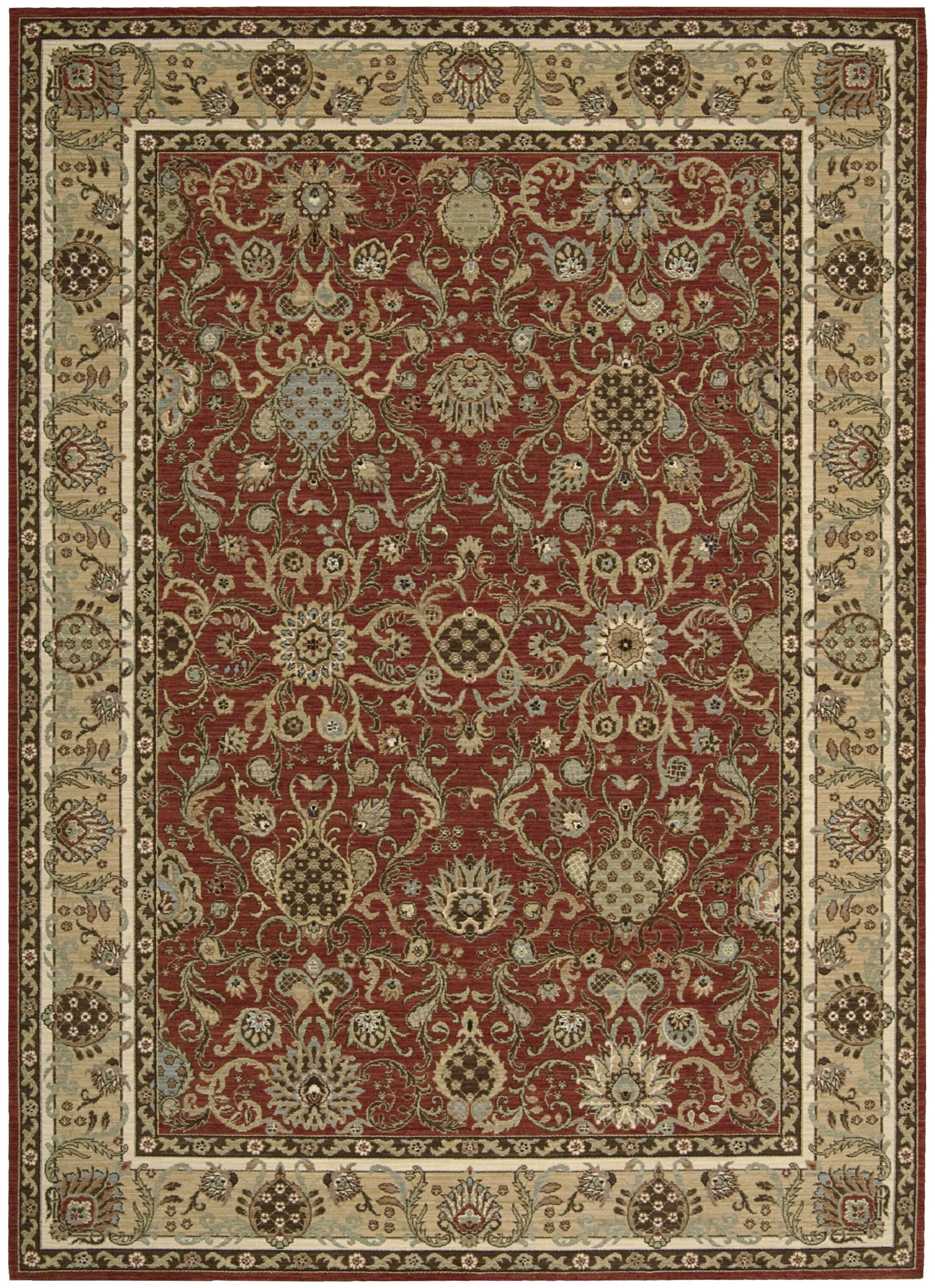 Lumiere Stateroom Brown Area Rug Rug Size: Rectangle 7'9