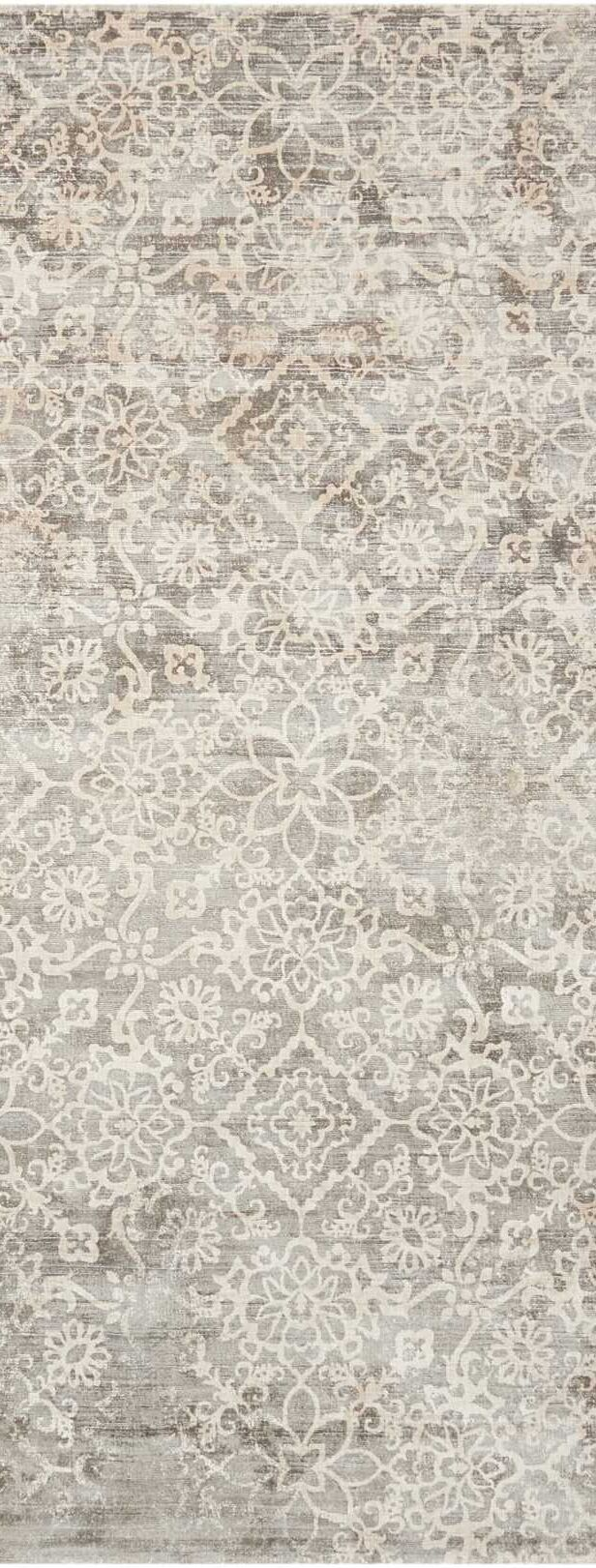 Desert Skies Hand-Loomed Gray Area Rug Rug Size: Runner 2'3