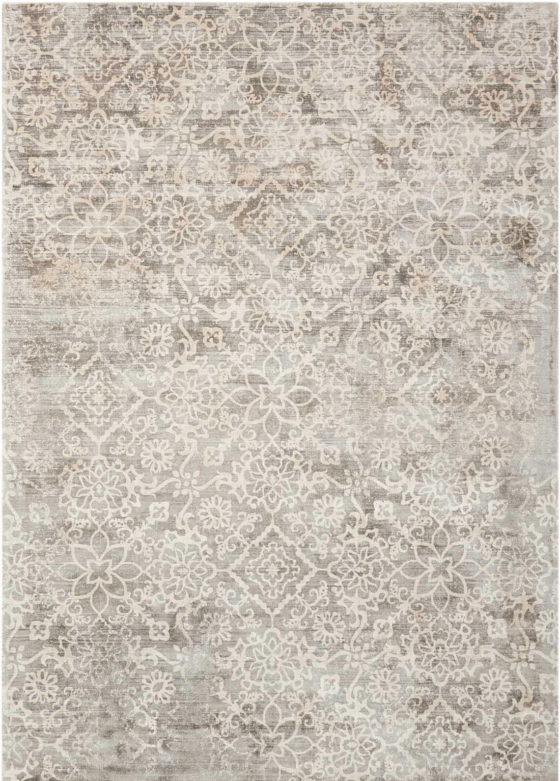 Desert Skies Hand-Loomed Gray Area Rug Rug Size: Rectangle 5'3
