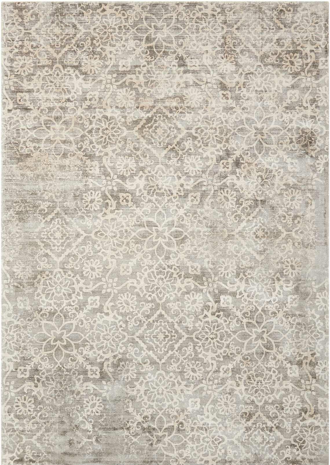 Desert Skies Hand-Loomed Gray Area Rug Rug Size: Rectangle 8' x 11'