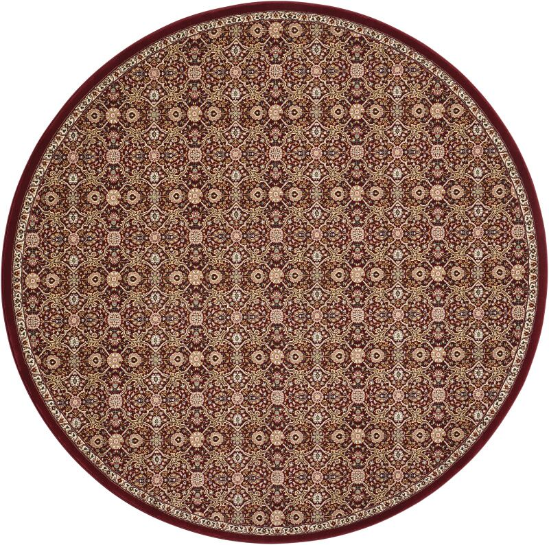 Antiquities Brown Area Rug Rug Size: Round 7'10