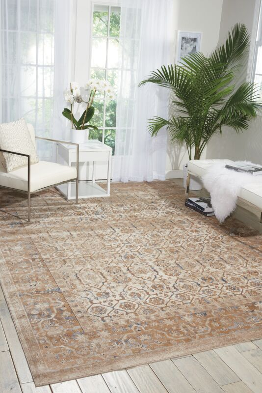 Malta Beige Area Rug Rug Size: Rectangle 3'11