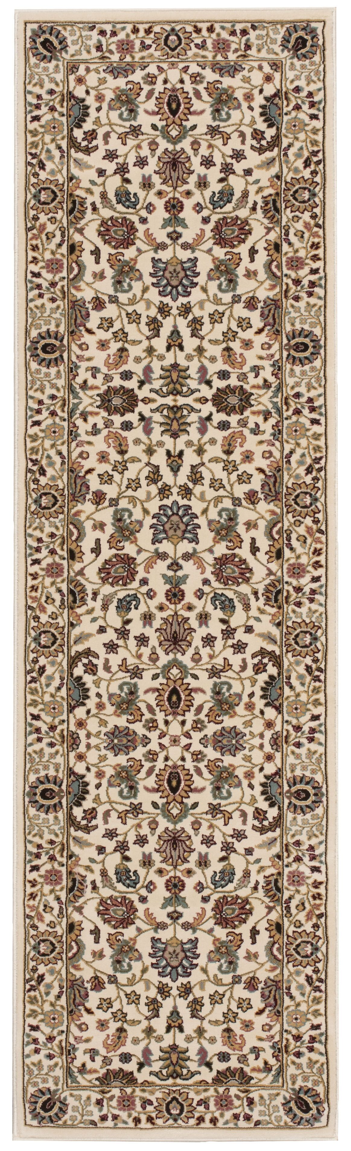 Antiquities Royal Countryside Ivory Area Rug Rug Size: Runner 2'2